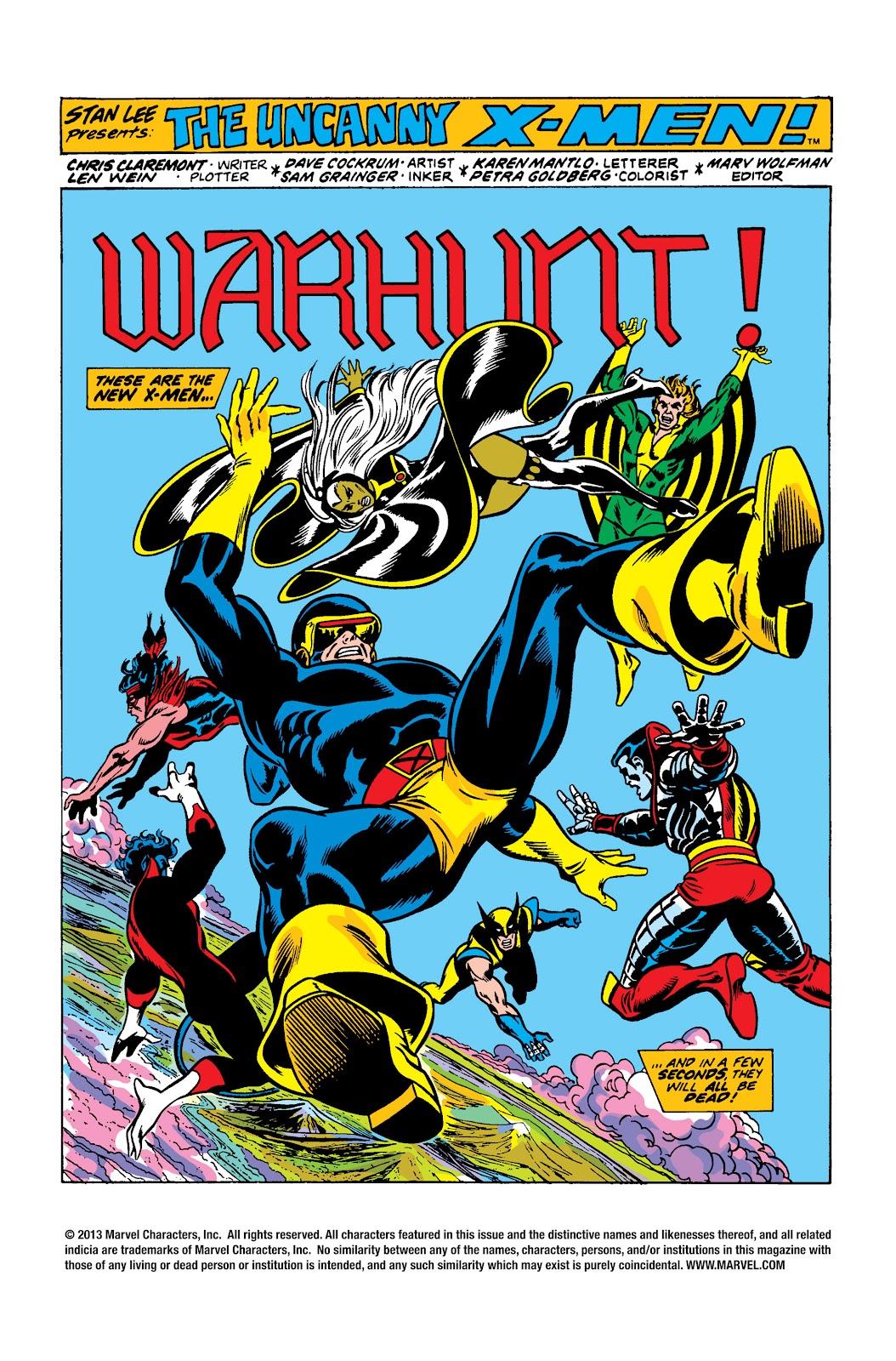 Uncanny X-Men (1963) issue 95 - Page 2