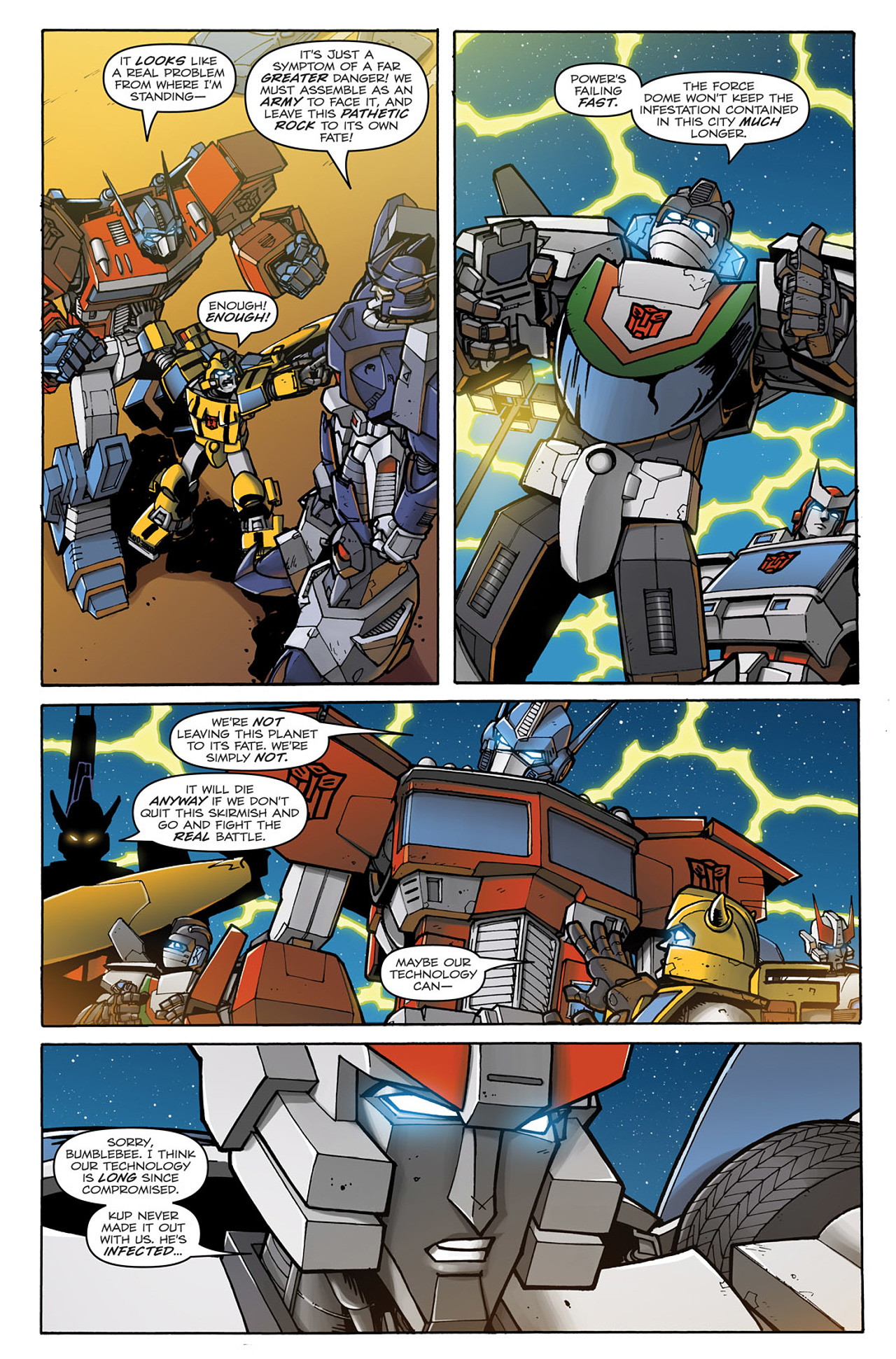 Read online Transformers: Infestation comic -  Issue #2 - 17