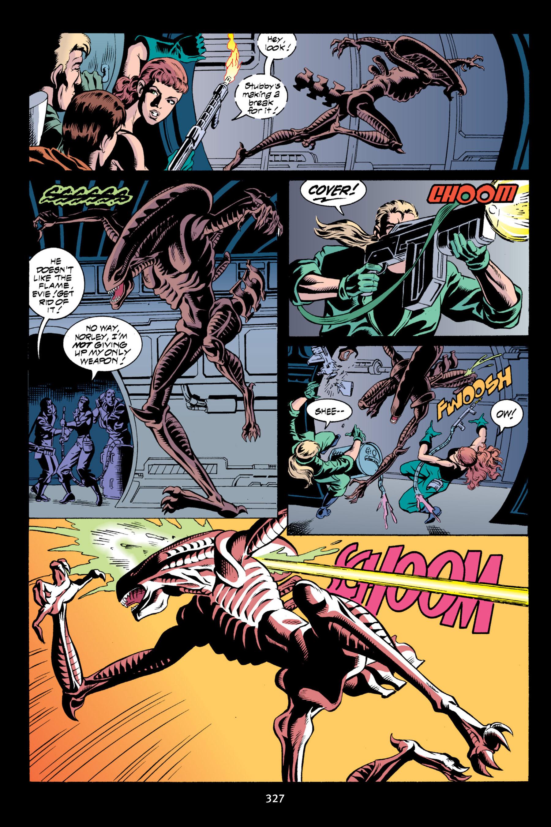 Read online Aliens vs. Predator Omnibus comic -  Issue # _TPB 2 Part 3 - 102