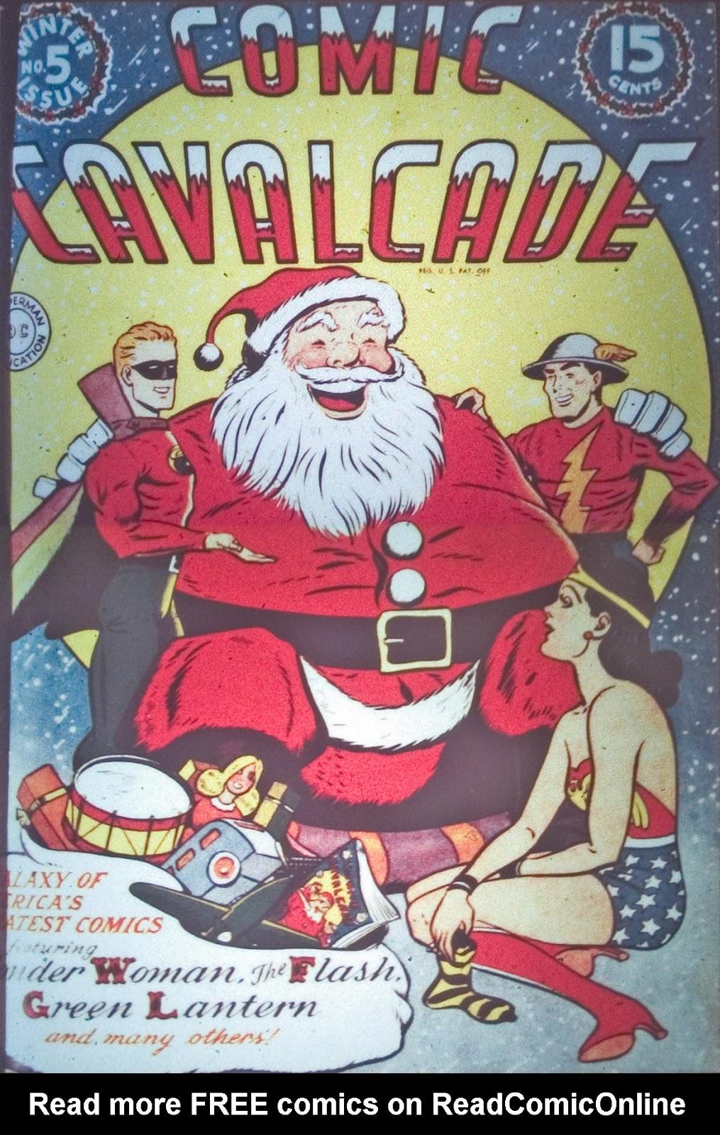 Comic Cavalcade issue 5 - Page 1