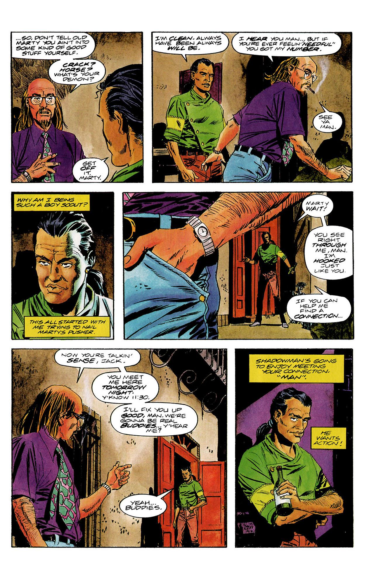 Read online Shadowman (1992) comic -  Issue #8 - 9