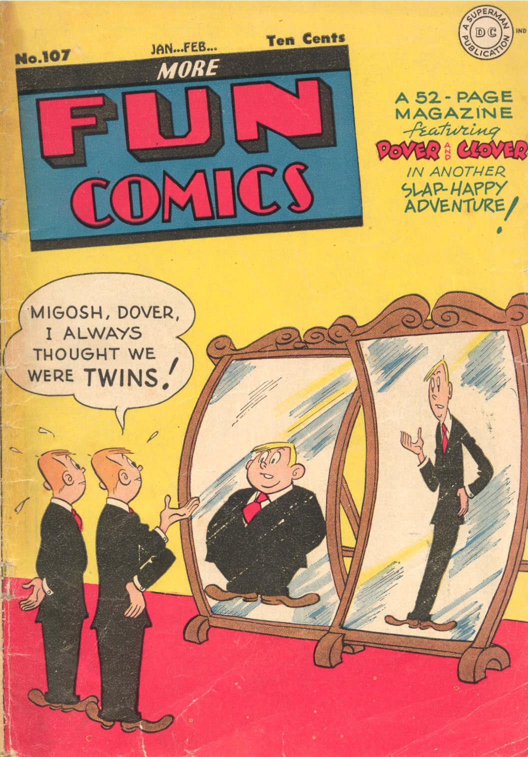 More Fun Comics 107 Page 1