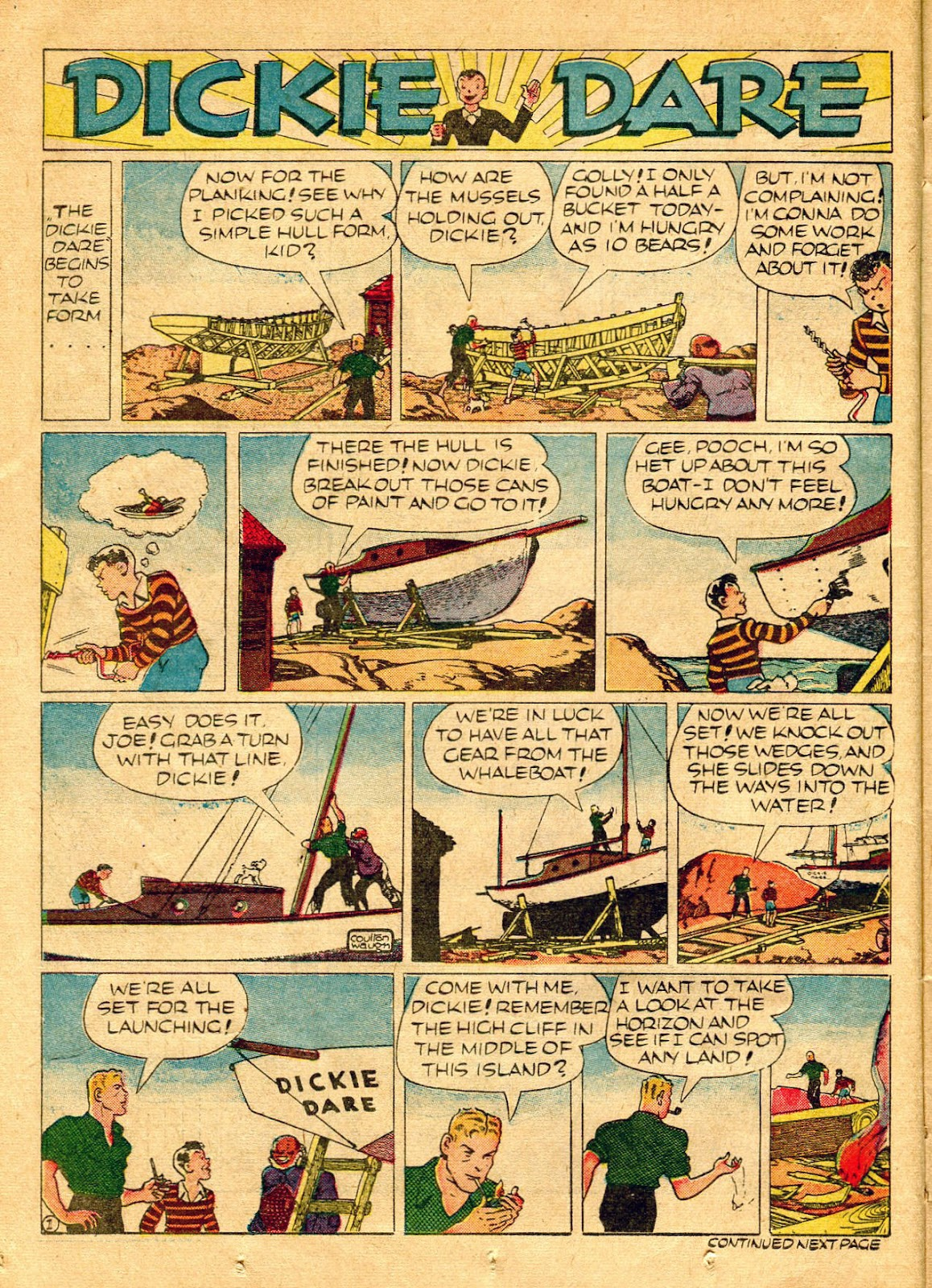 Read online Famous Funnies comic -  Issue #62 - 27