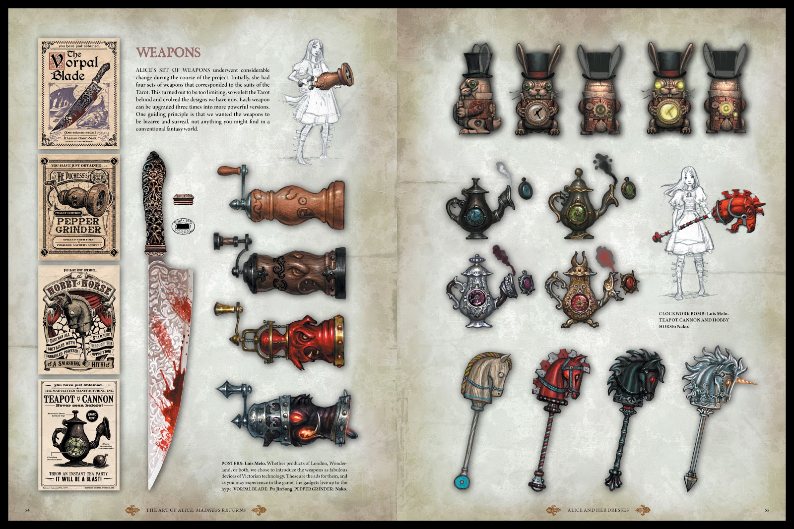 Read online The Art of Alice: Madness Returns comic -  Issue # TPB (Part 1) - 51