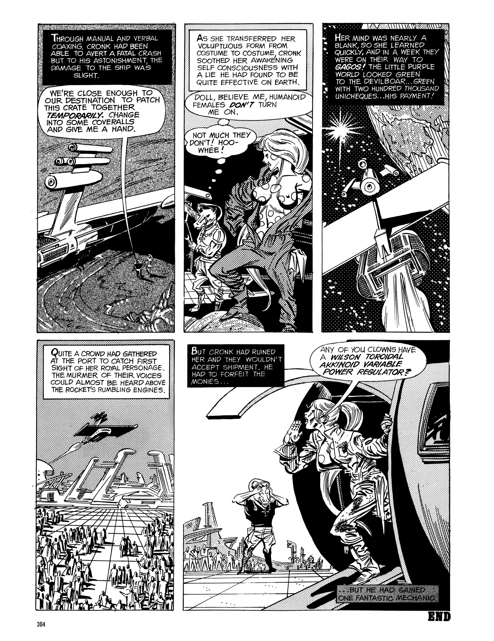 Read online Eerie Archives comic -  Issue # TPB 16 - 305