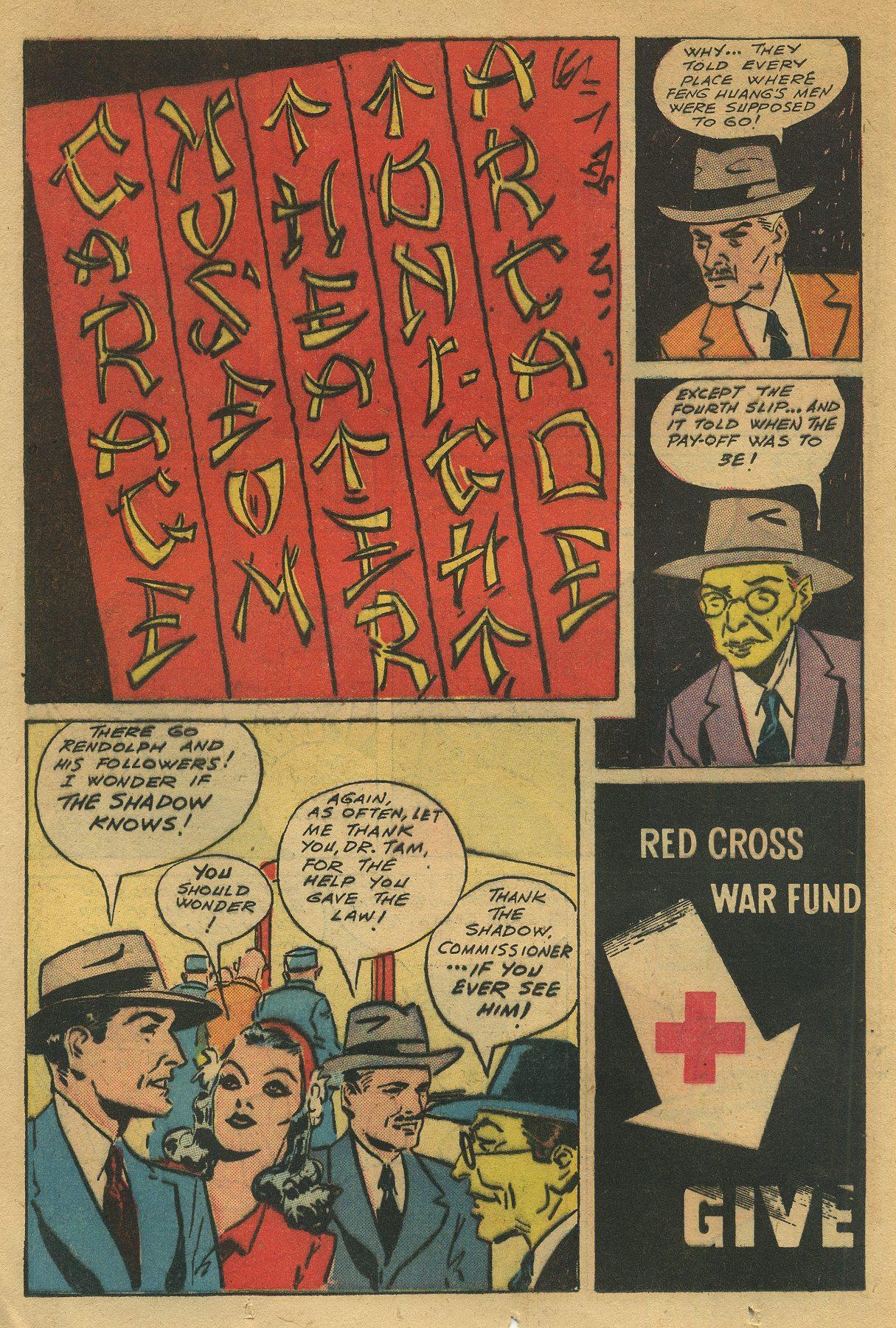 Read online Shadow Comics comic -  Issue #49 - 16