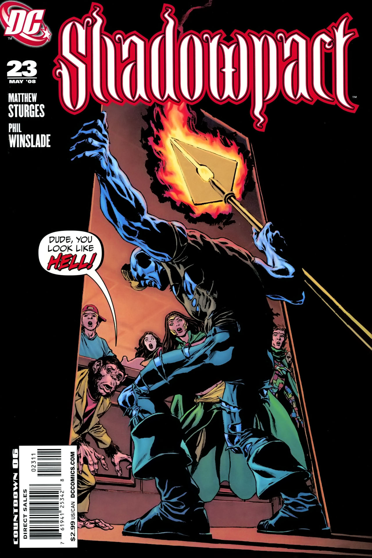 Read online Shadowpact comic -  Issue #23 - 1
