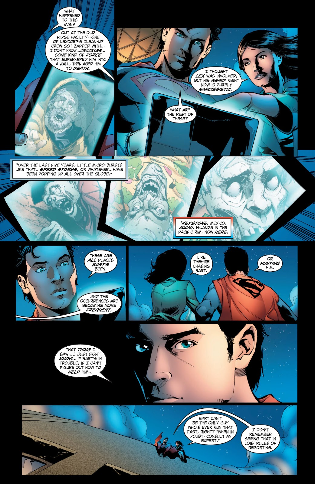 Read online Smallville Season 11 [II] comic -  Issue # TPB 3 - 60