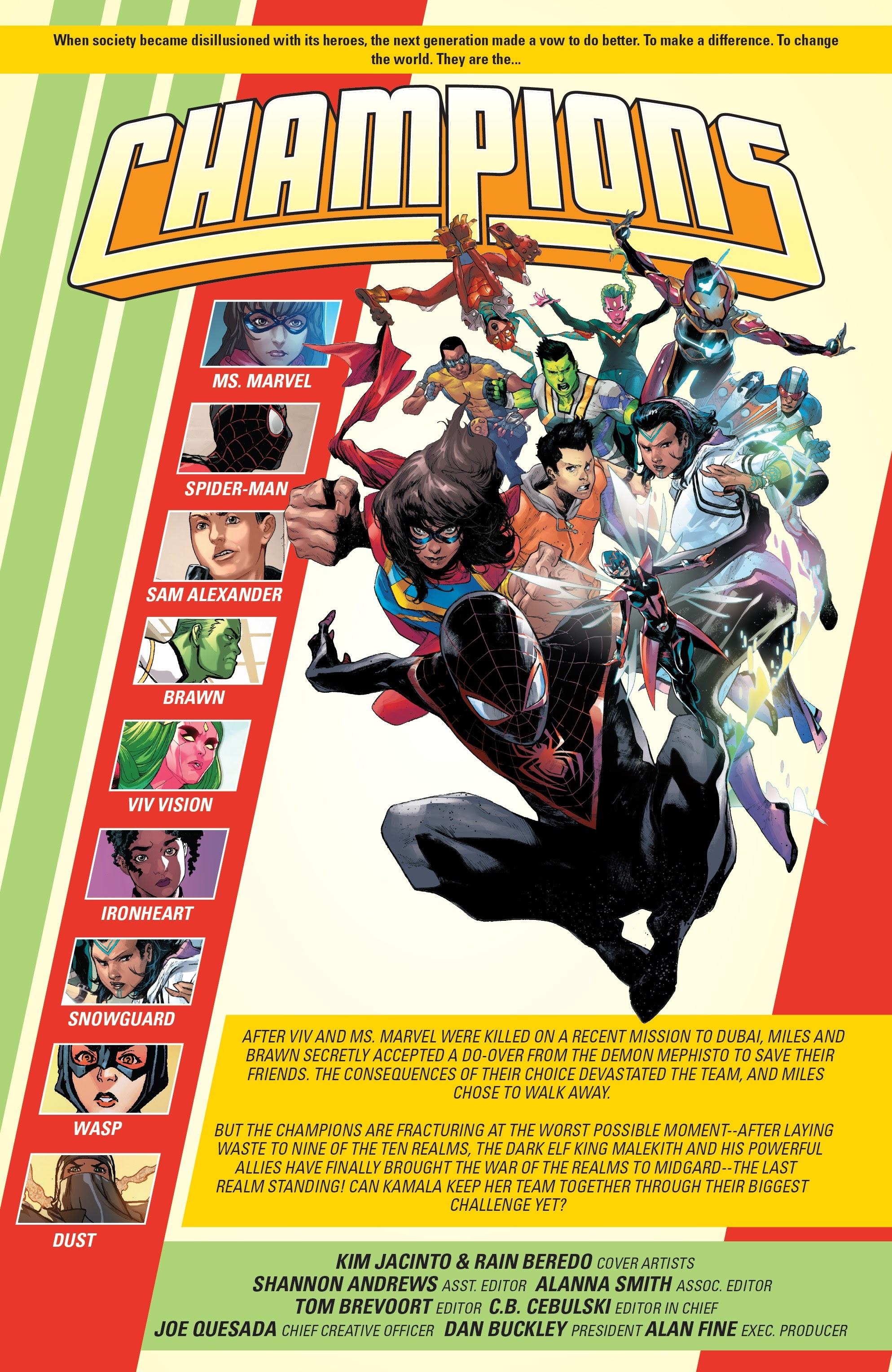 Read online Champions (2019) comic -  Issue #6 - 4