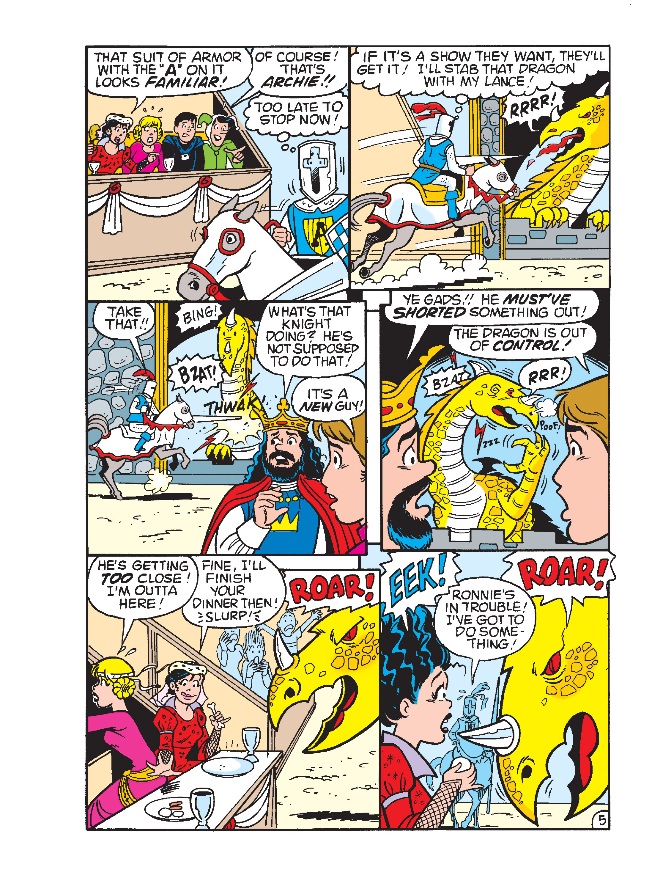 Read online Archie's Funhouse Double Digest comic -  Issue #15 - 232