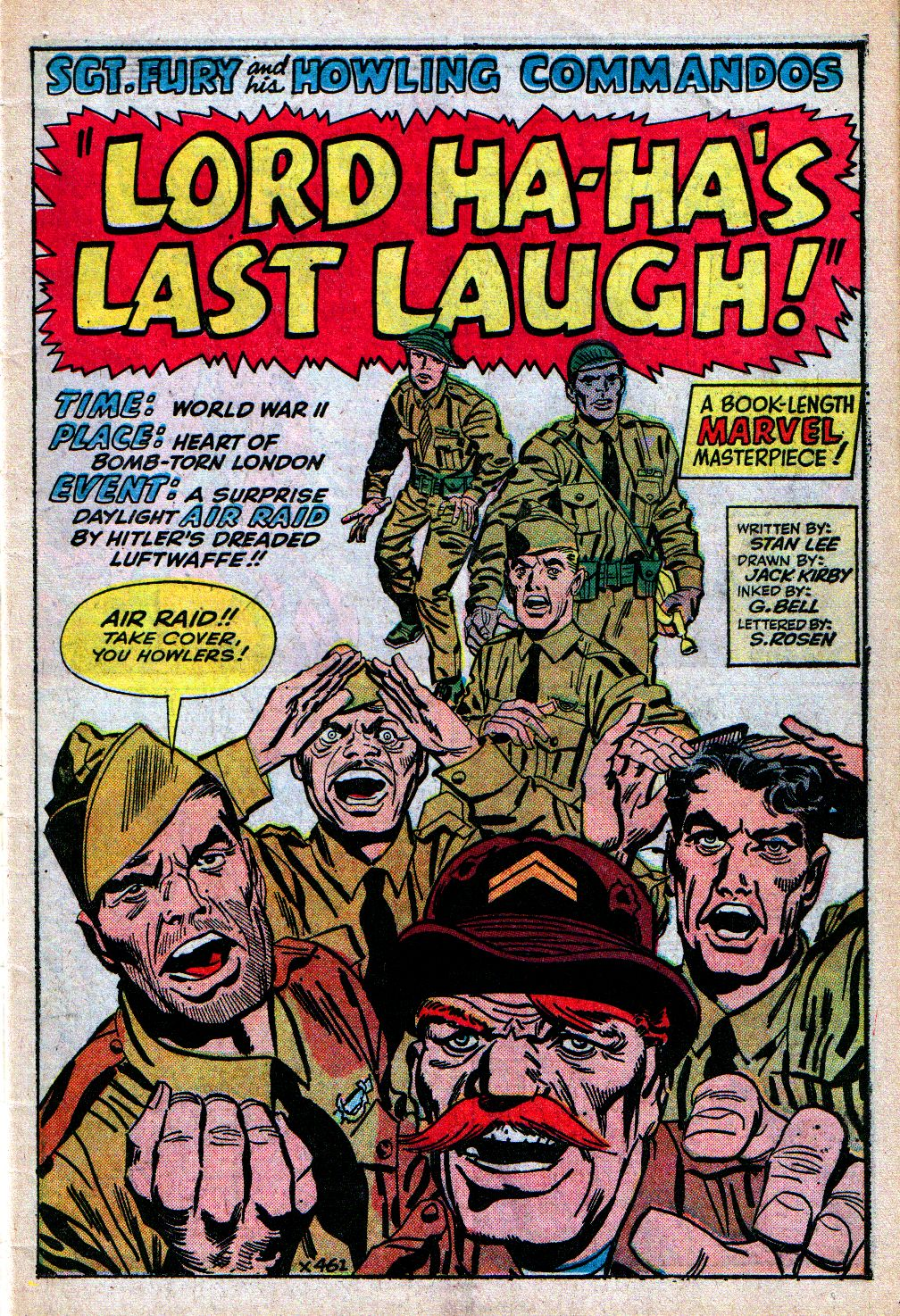 Read online Sgt. Fury comic -  Issue #4 - 3