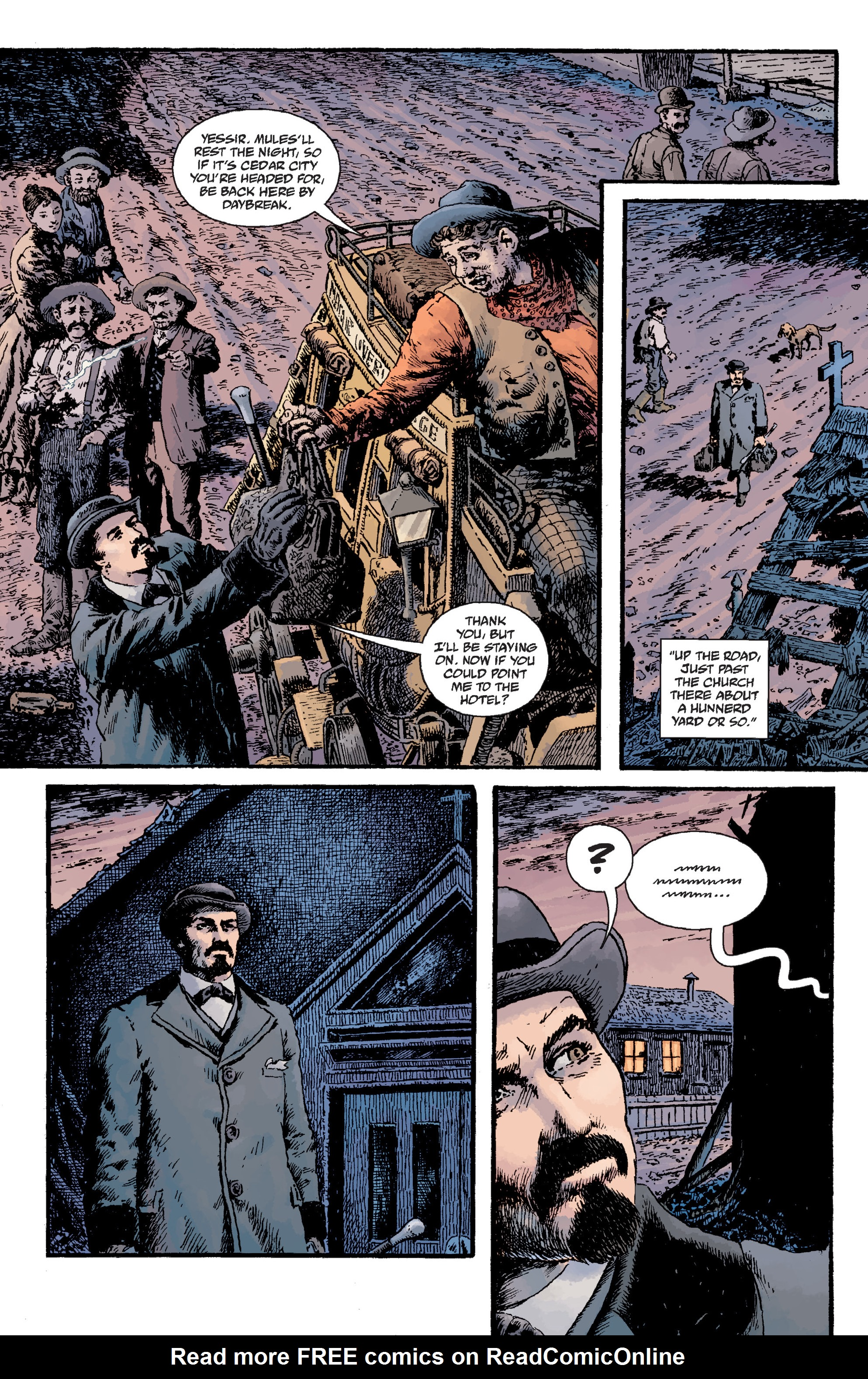 Read online Sir Edward Grey, Witchfinder: Lost and Gone Forever comic -  Issue # TPB - 11