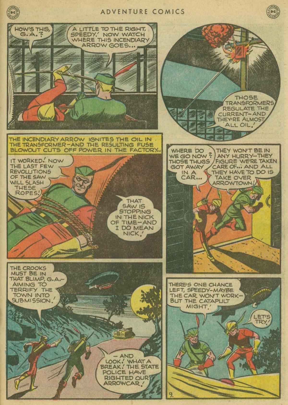 Read online Adventure Comics (1938) comic -  Issue #130 - 32