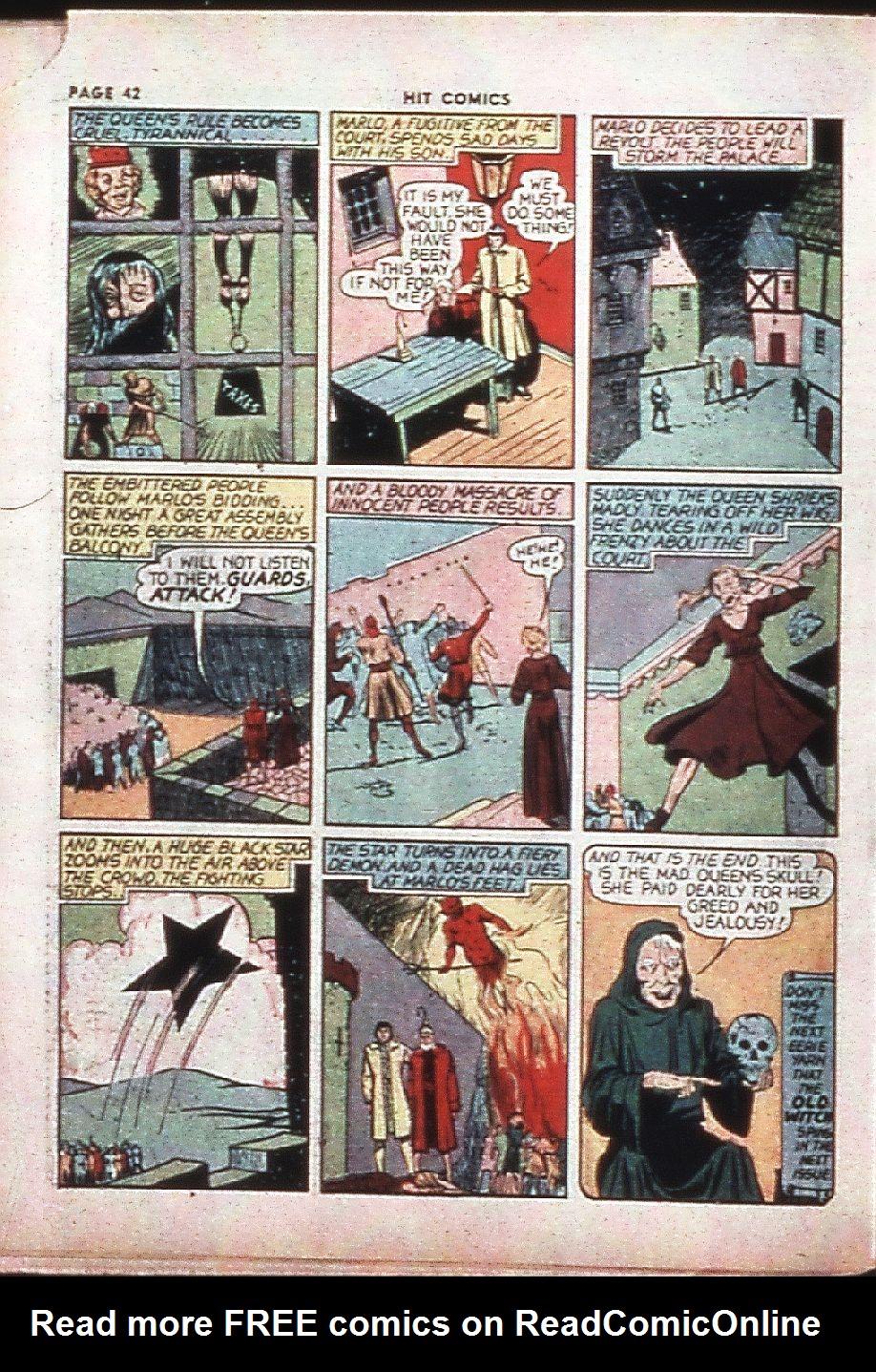 Read online Hit Comics comic -  Issue #4 - 44