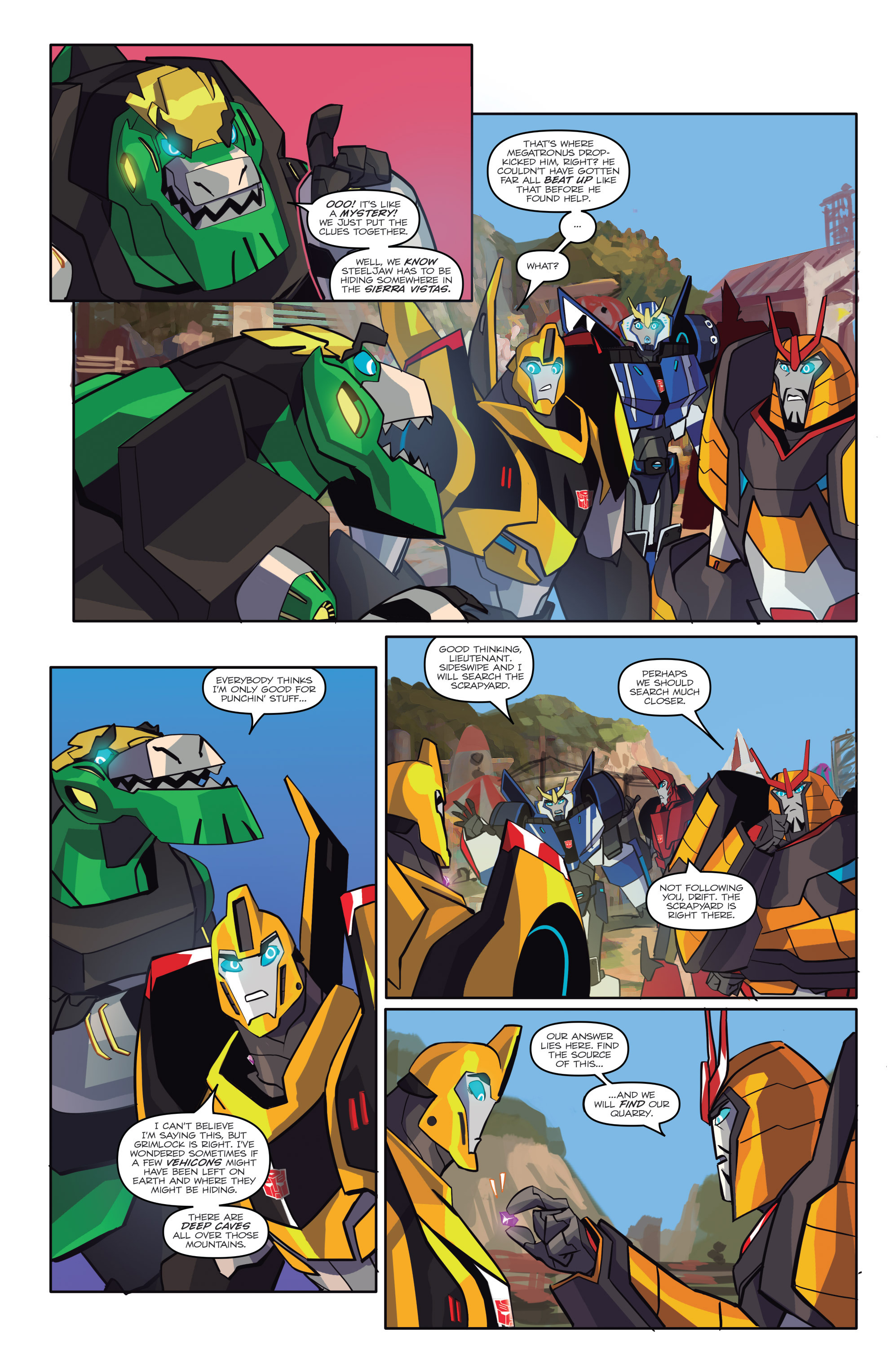 Read online Transformers: Robots In Disguise (2015) comic -  Issue #6 - 11
