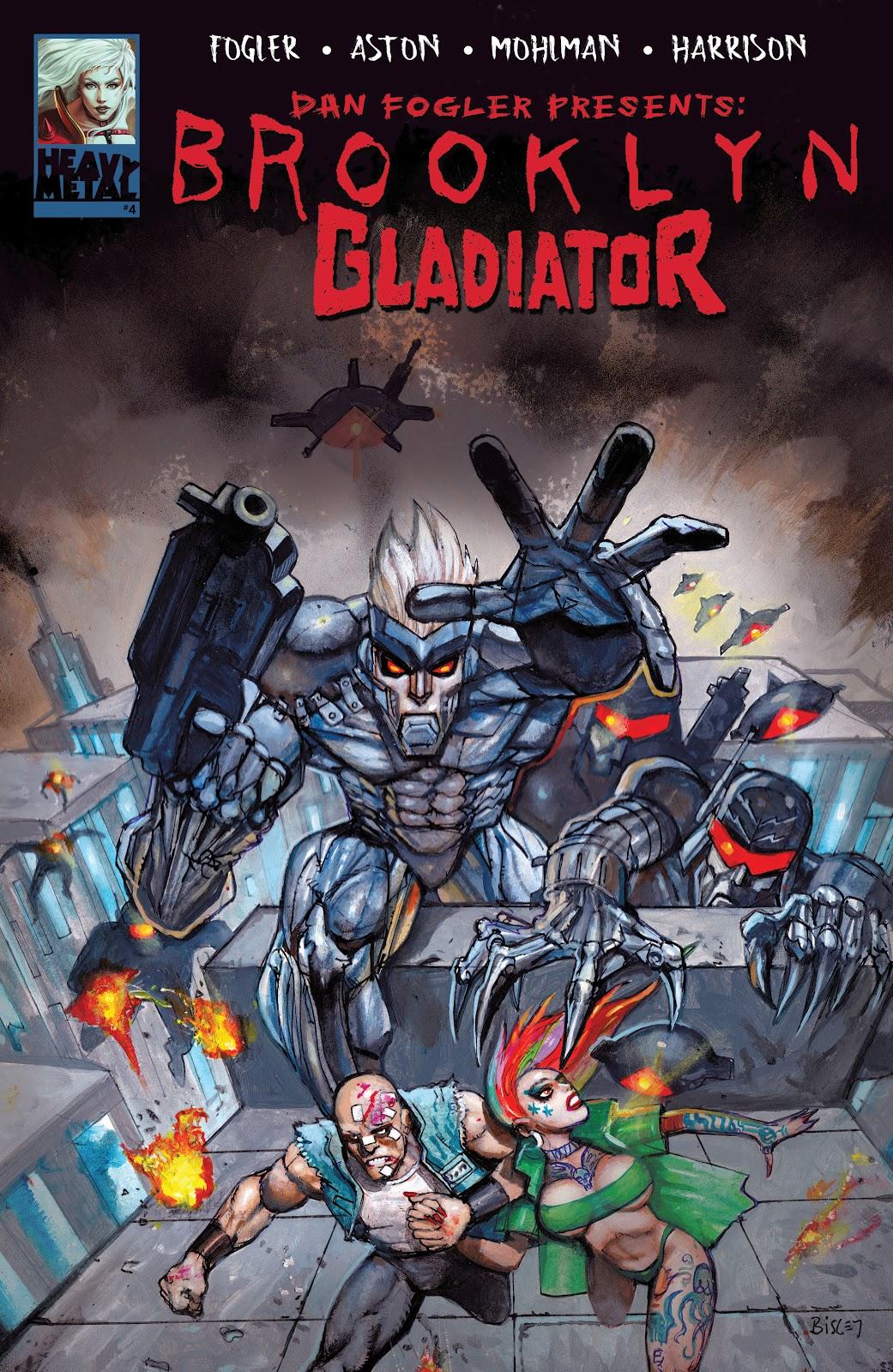 Brooklyn Gladiator issue 4 - Page 1