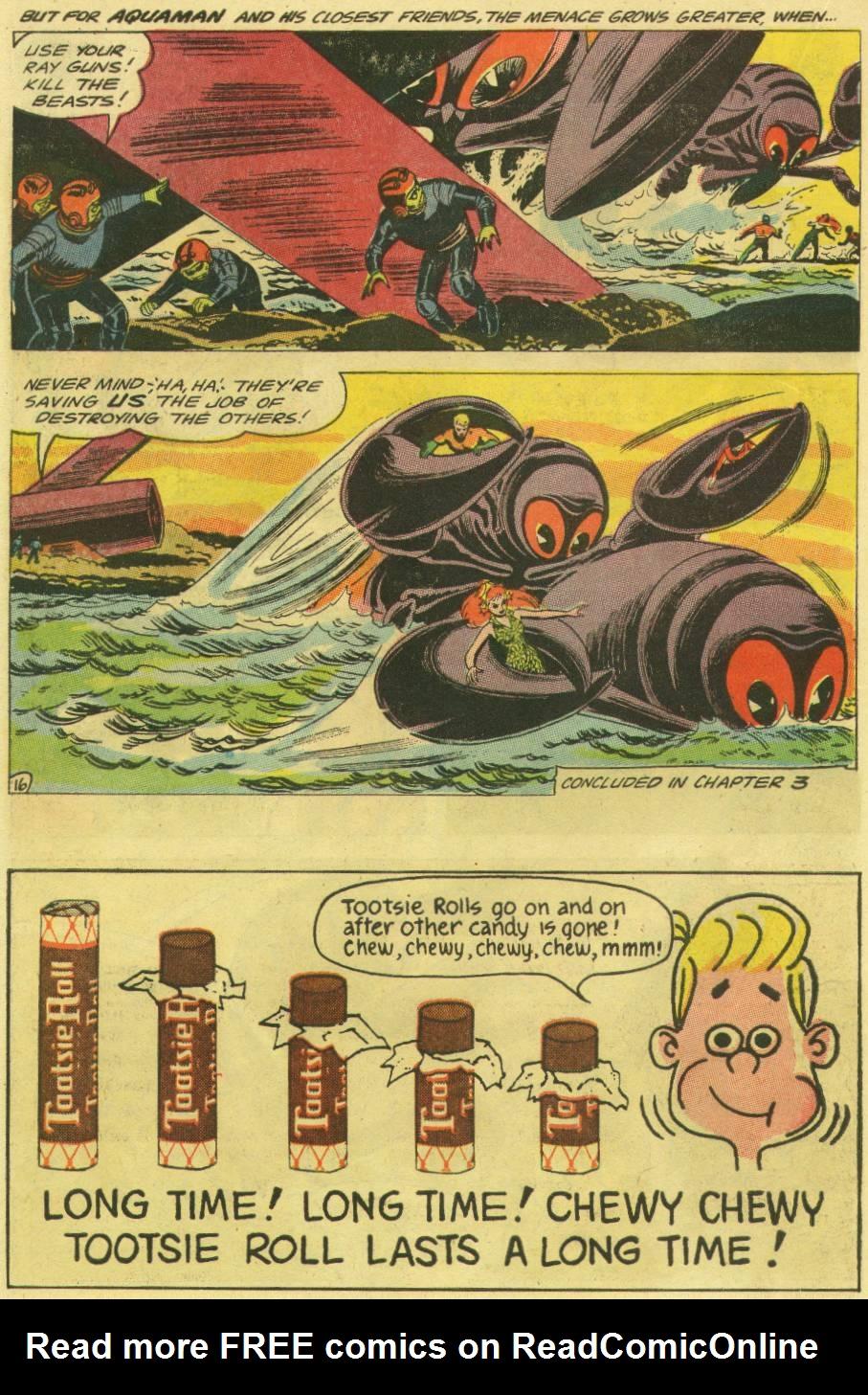 Read online Aquaman (1962) comic -  Issue #16 - 22