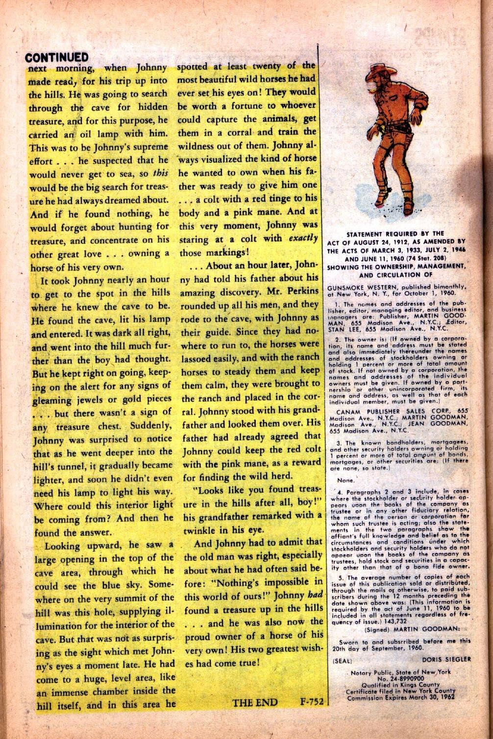Gunsmoke Western issue 64 - Page 26