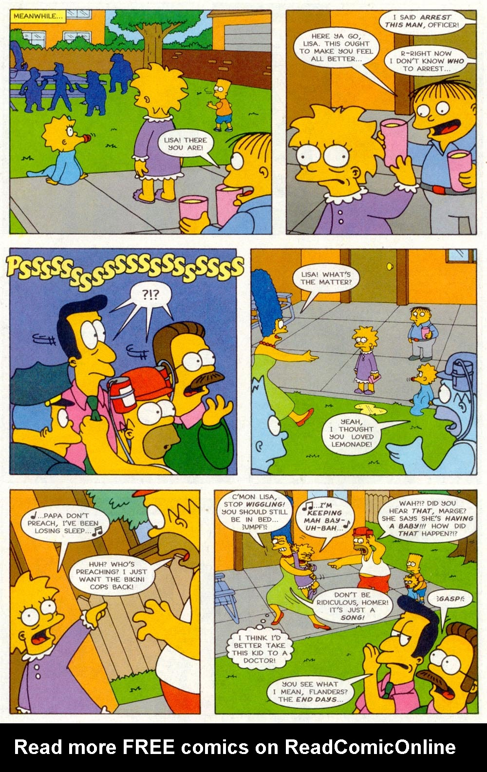 Read online Treehouse of Horror comic -  Issue #2 - 23