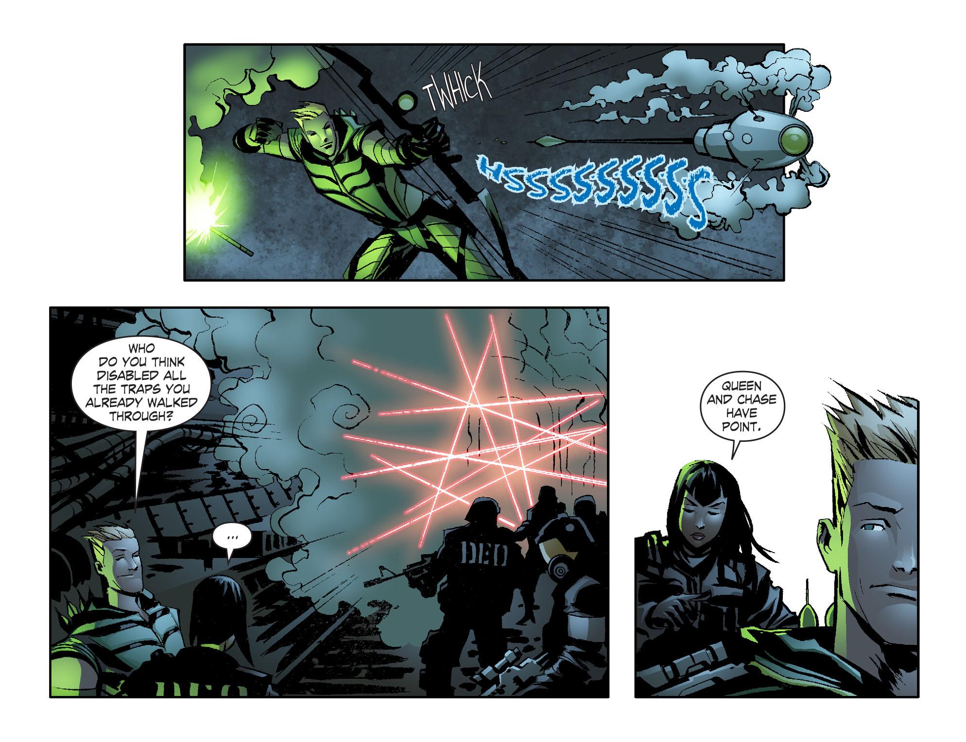 Read online Smallville: Lantern [I] comic -  Issue #6 - 12