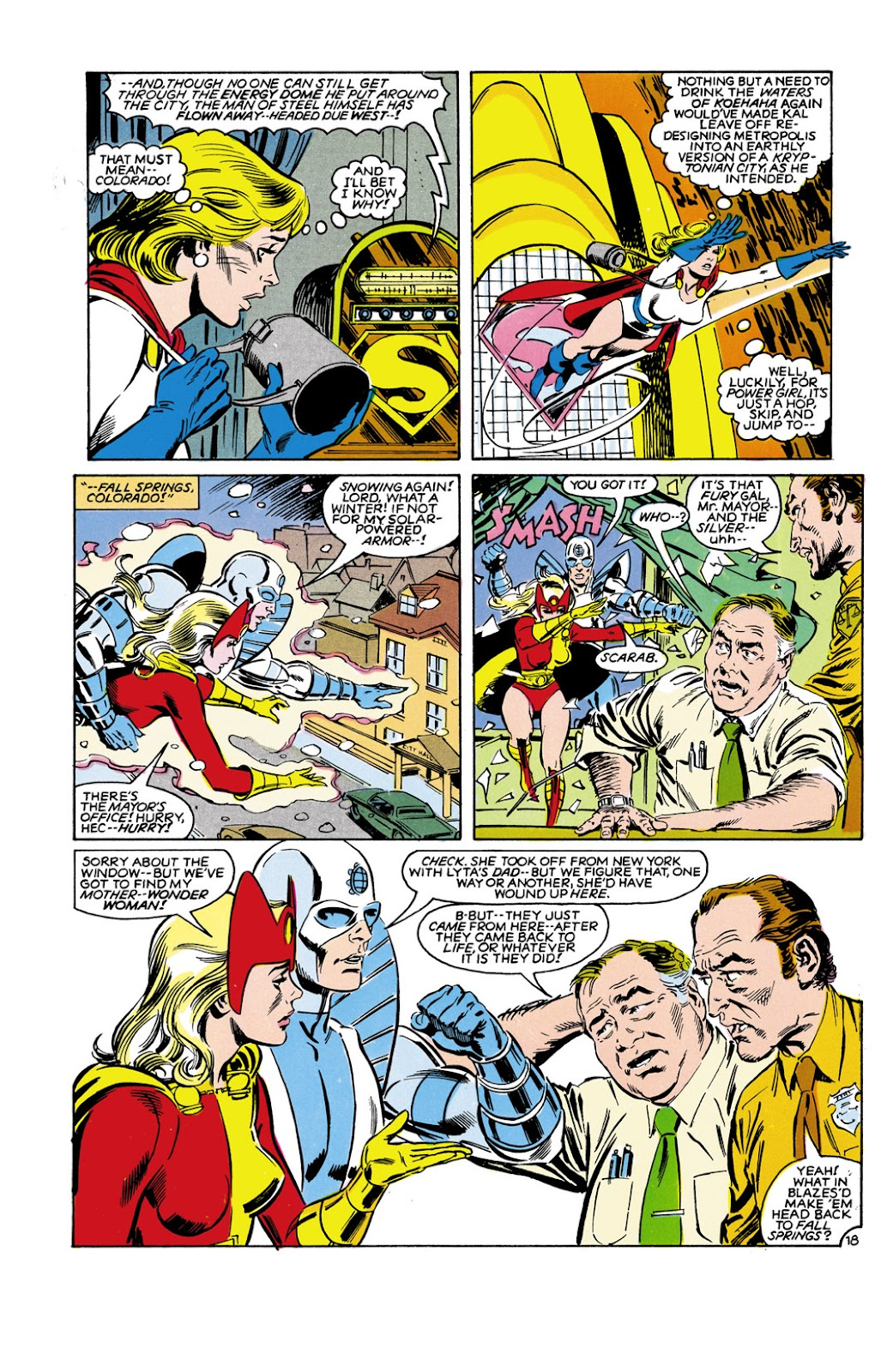 Infinity Inc. (1984) issue 9 - Page 18