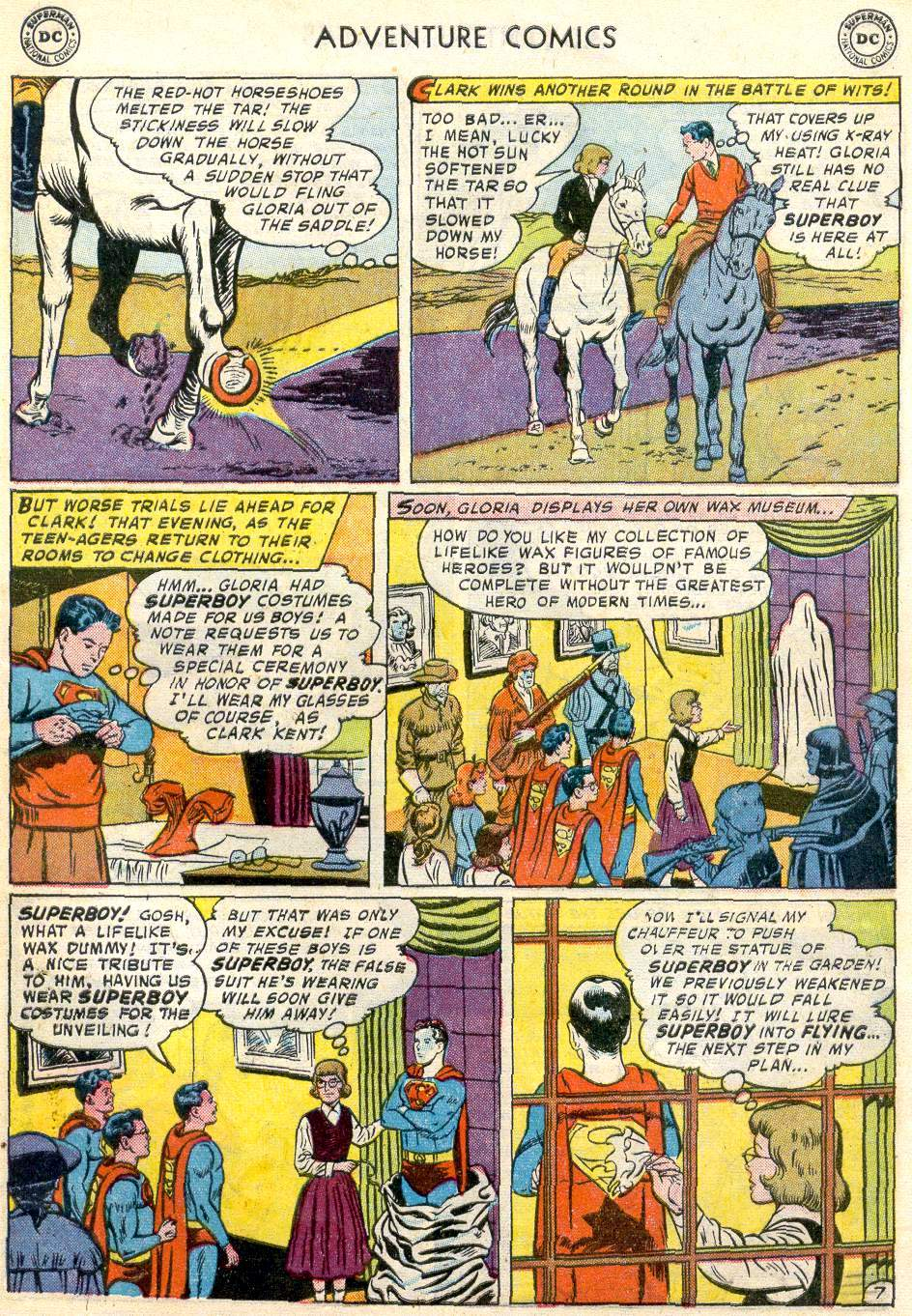 Read online Adventure Comics (1938) comic -  Issue #246 - 9