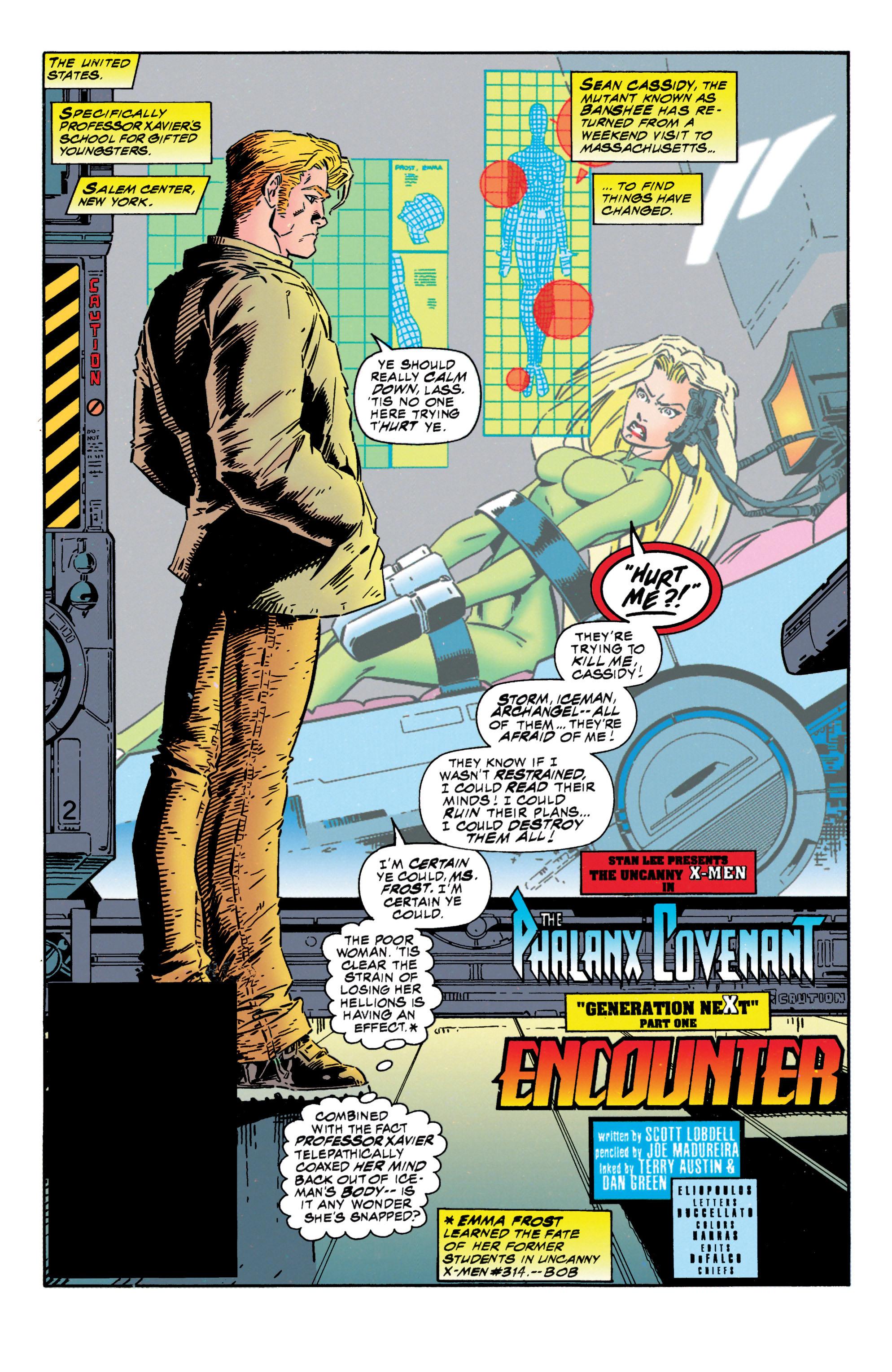 Read online Uncanny X-Men (1963) comic -  Issue #316 - 7
