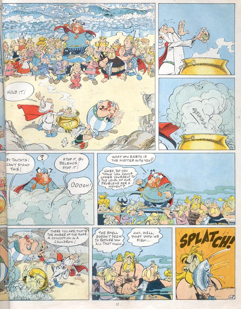 Read online Asterix comic -  Issue #19 - 34