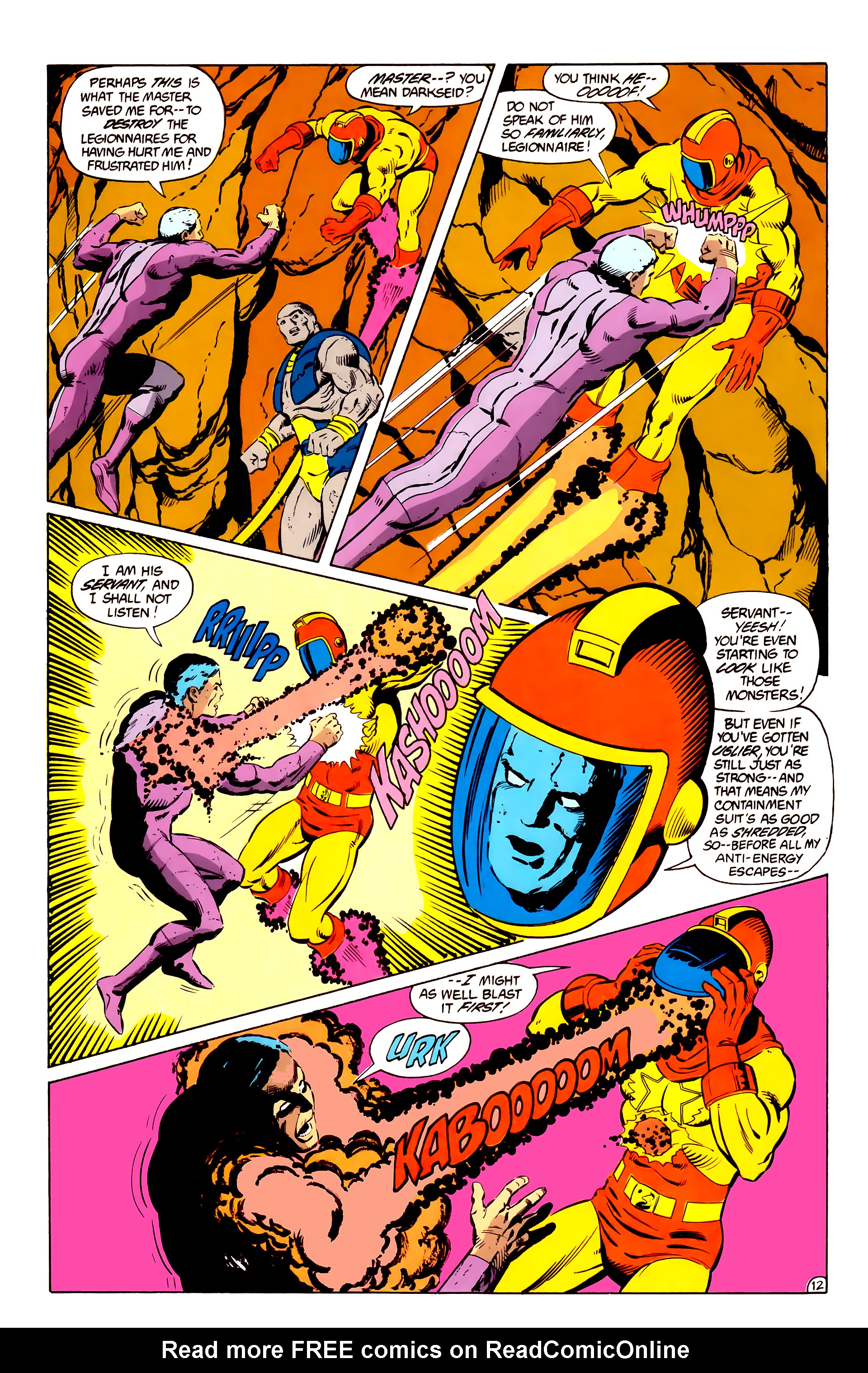 Legion of Super-Heroes (1984) _Annual_2 Page 13