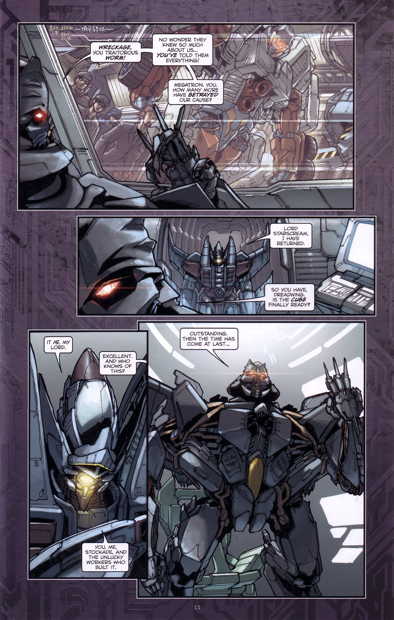 Read online Transformers: The Reign of Starscream comic -  Issue #4 - 13