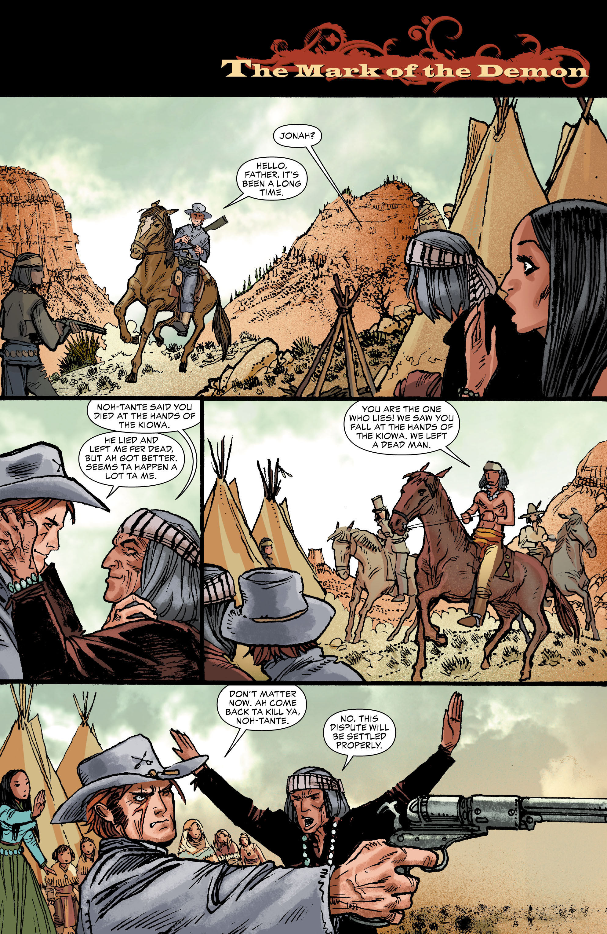 Read online All-Star Western (2011) comic -  Issue #0 - 22