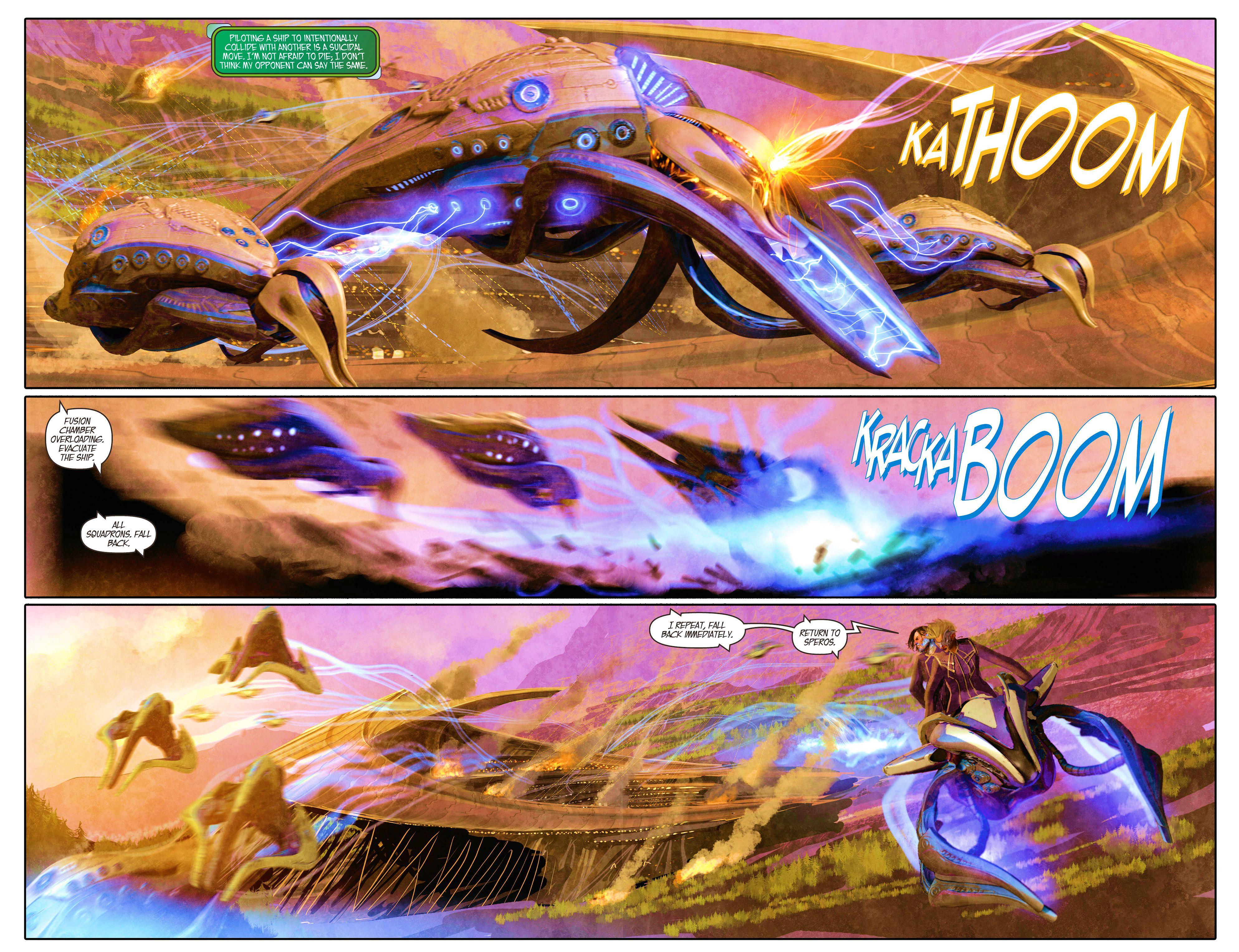 Read online Aphrodite IX (2013) comic -  Issue #5 - 13