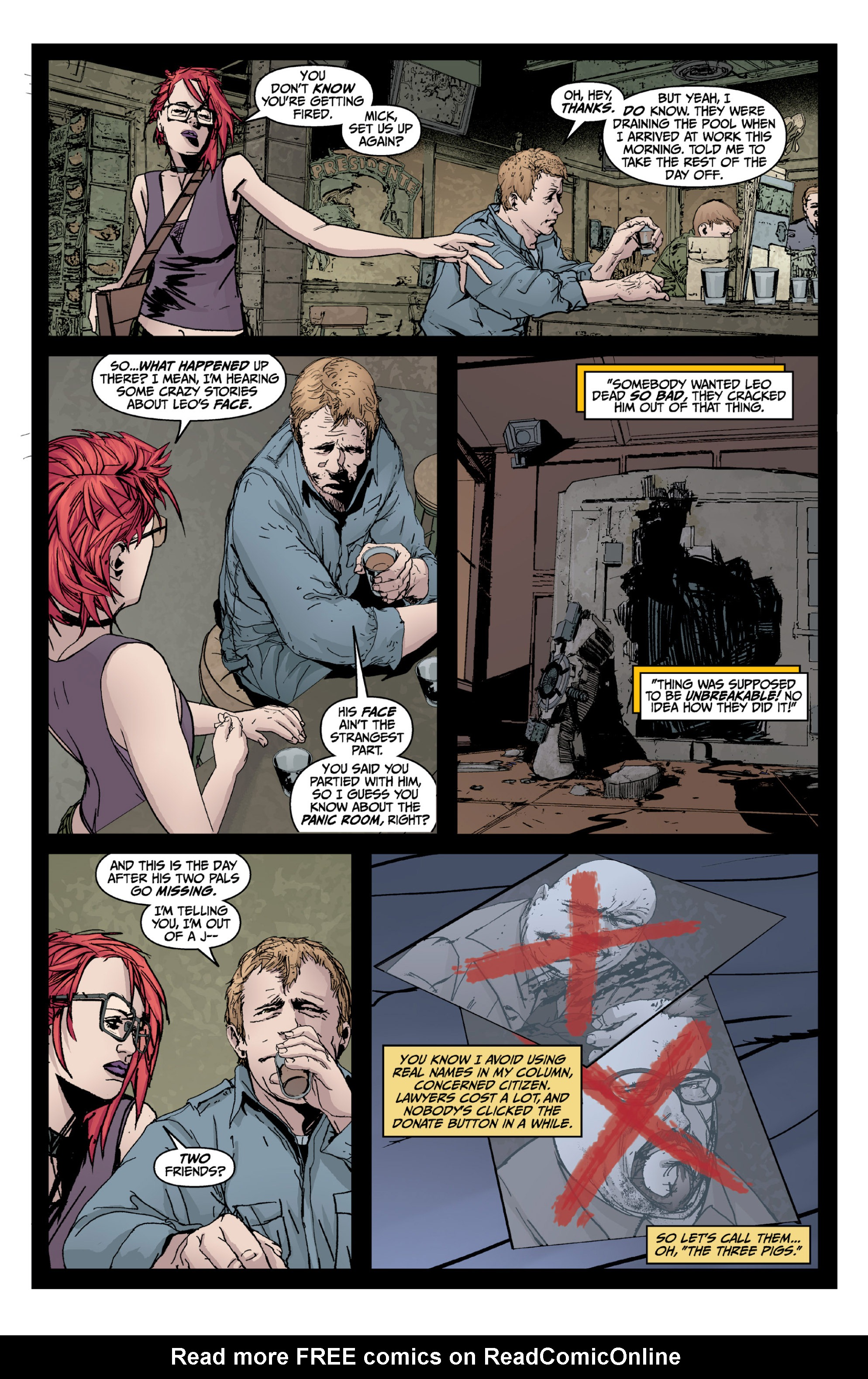 Read online X: Big Bad comic -  Issue # Full - 43
