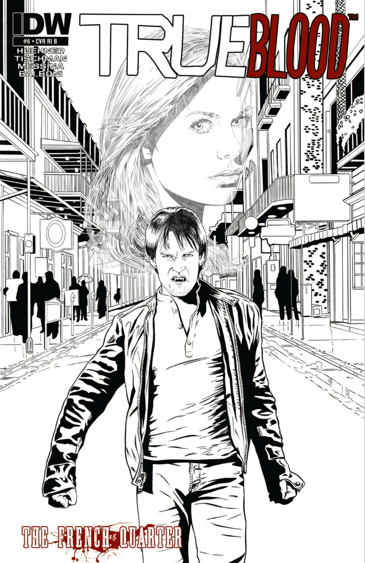 Read online True Blood: French Quarter comic -  Issue #6 - 4