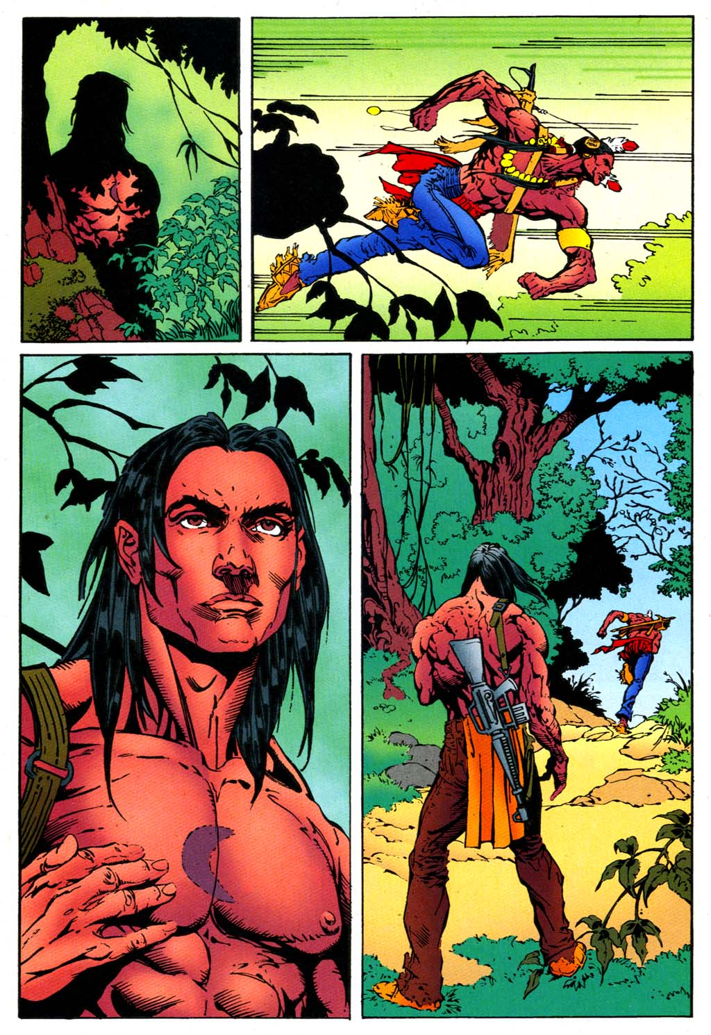 Read online Turok, Dinosaur Hunter (1993) comic -  Issue #47 - 9