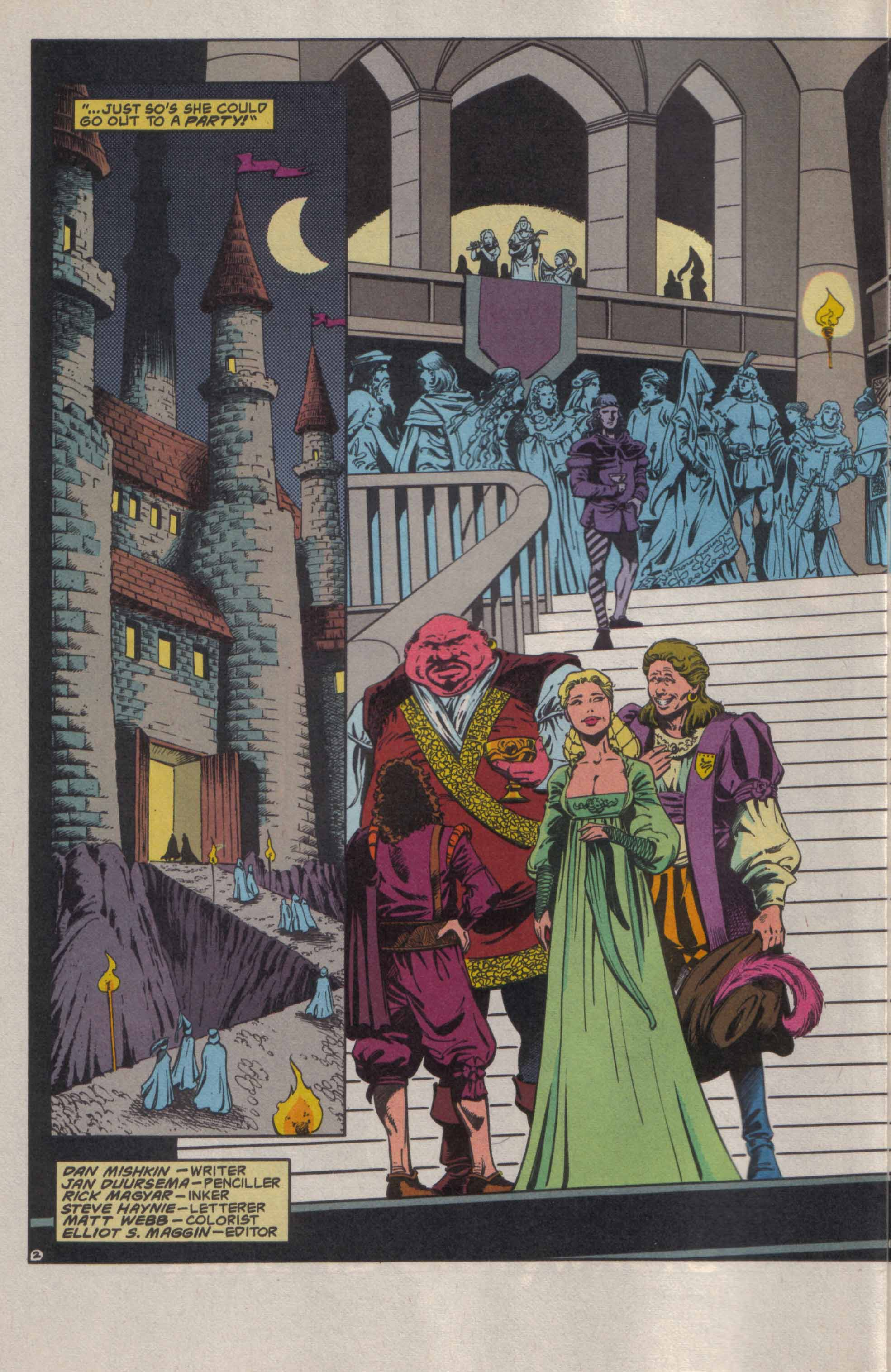 Read online Advanced Dungeons & Dragons comic -  Issue #20 - 3