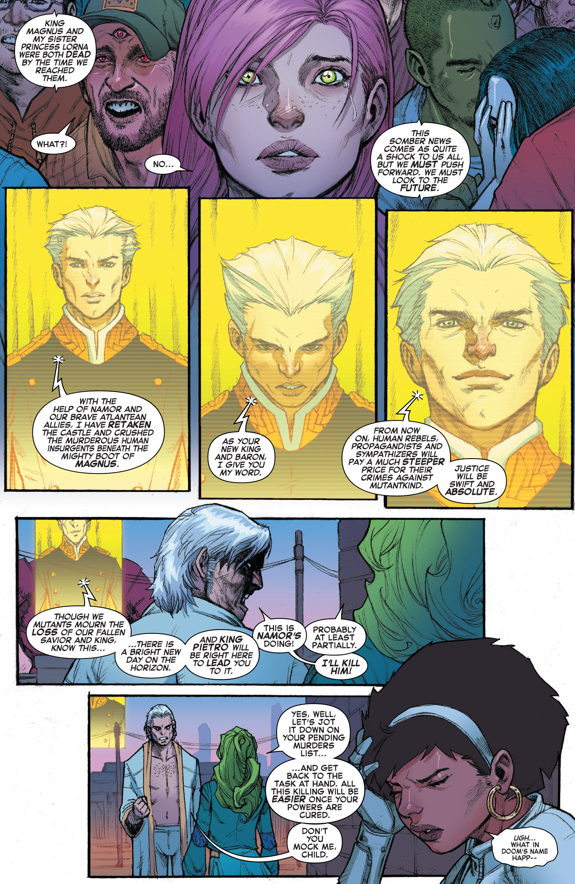 Read online House of M (2015) comic -  Issue #3 - 11