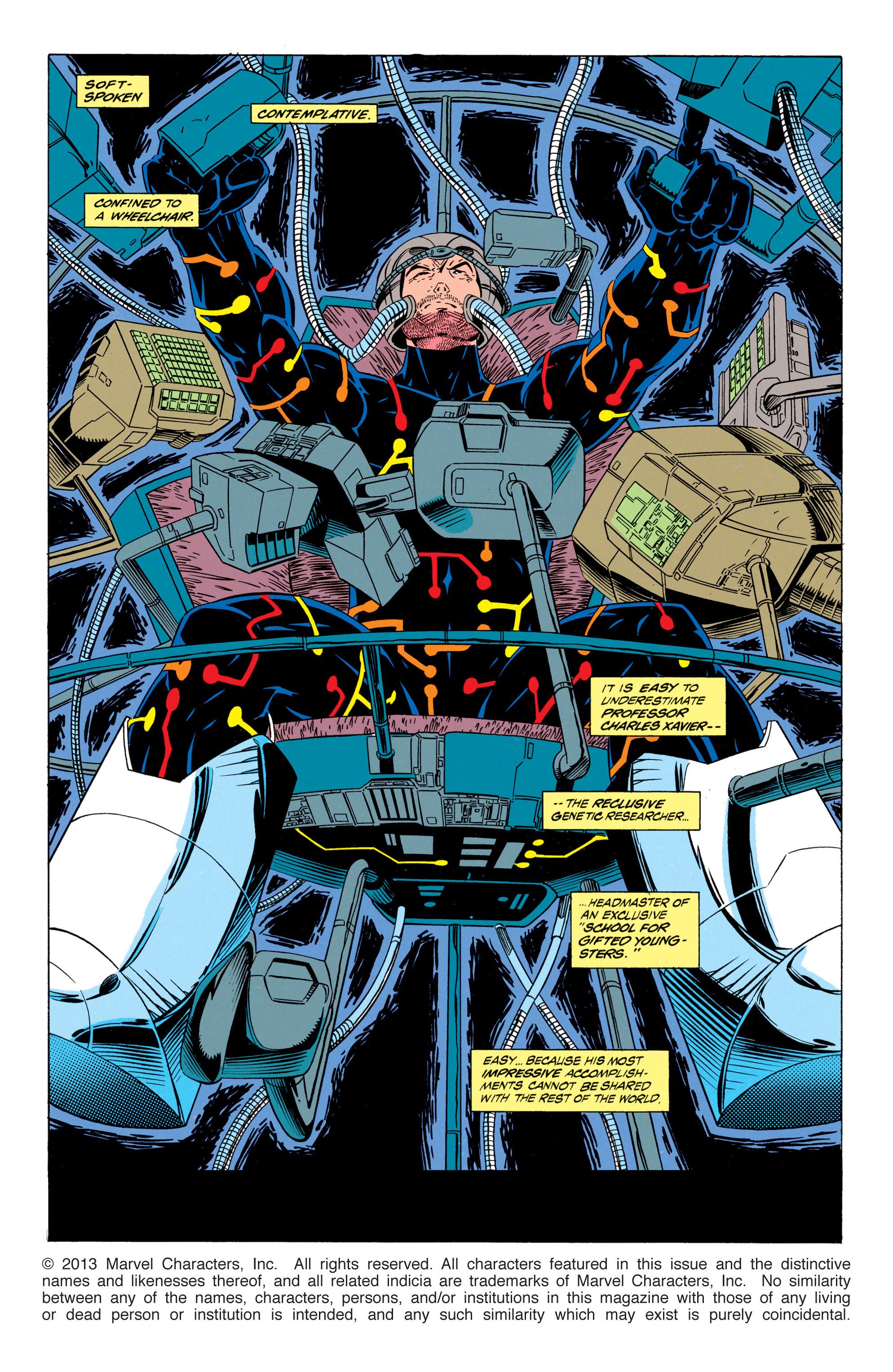 Read online Uncanny X-Men (1963) comic -  Issue #298 - 2