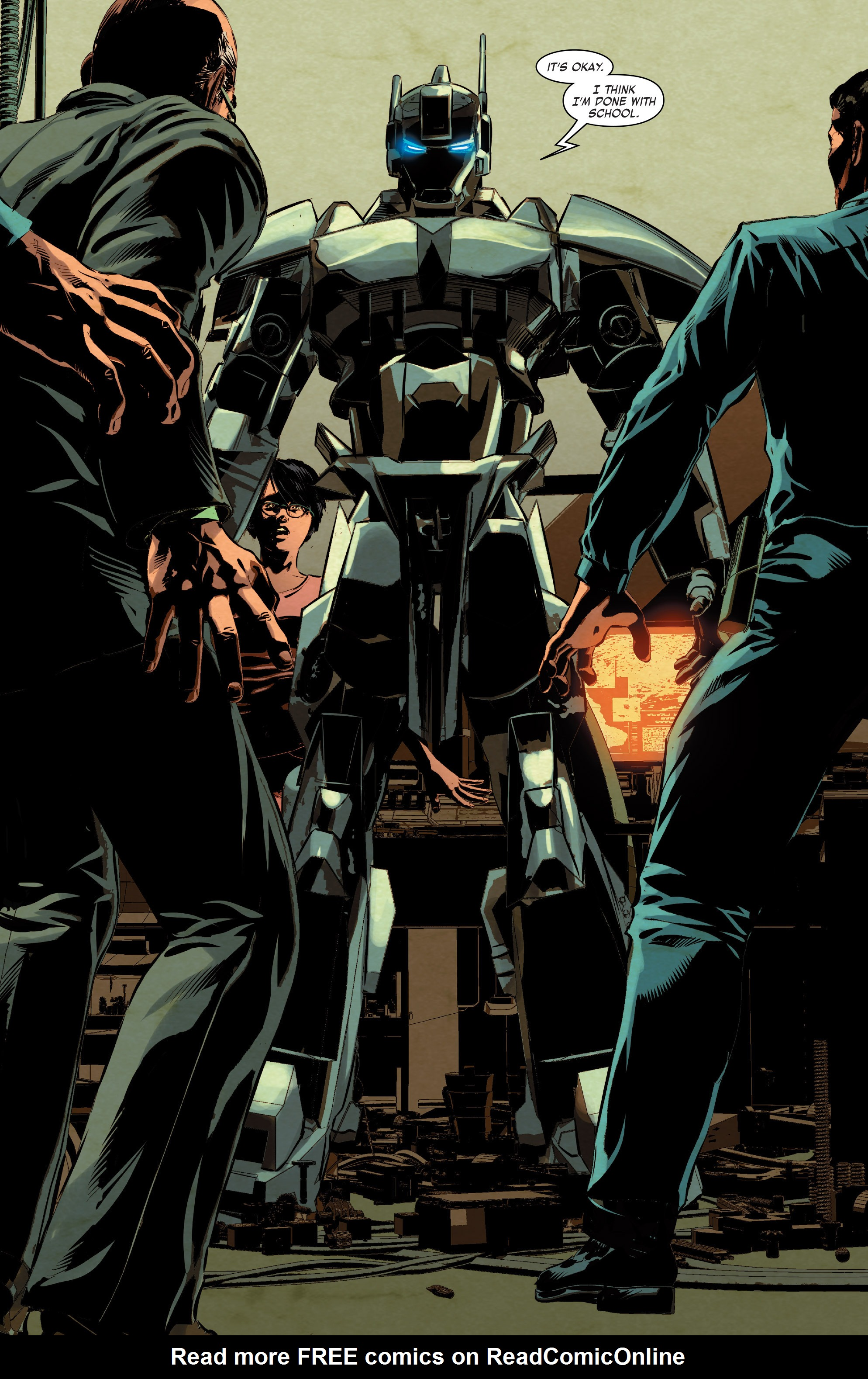 Read online True Believers: Invincible Iron Man-The War Machines comic -  Issue # Full - 74