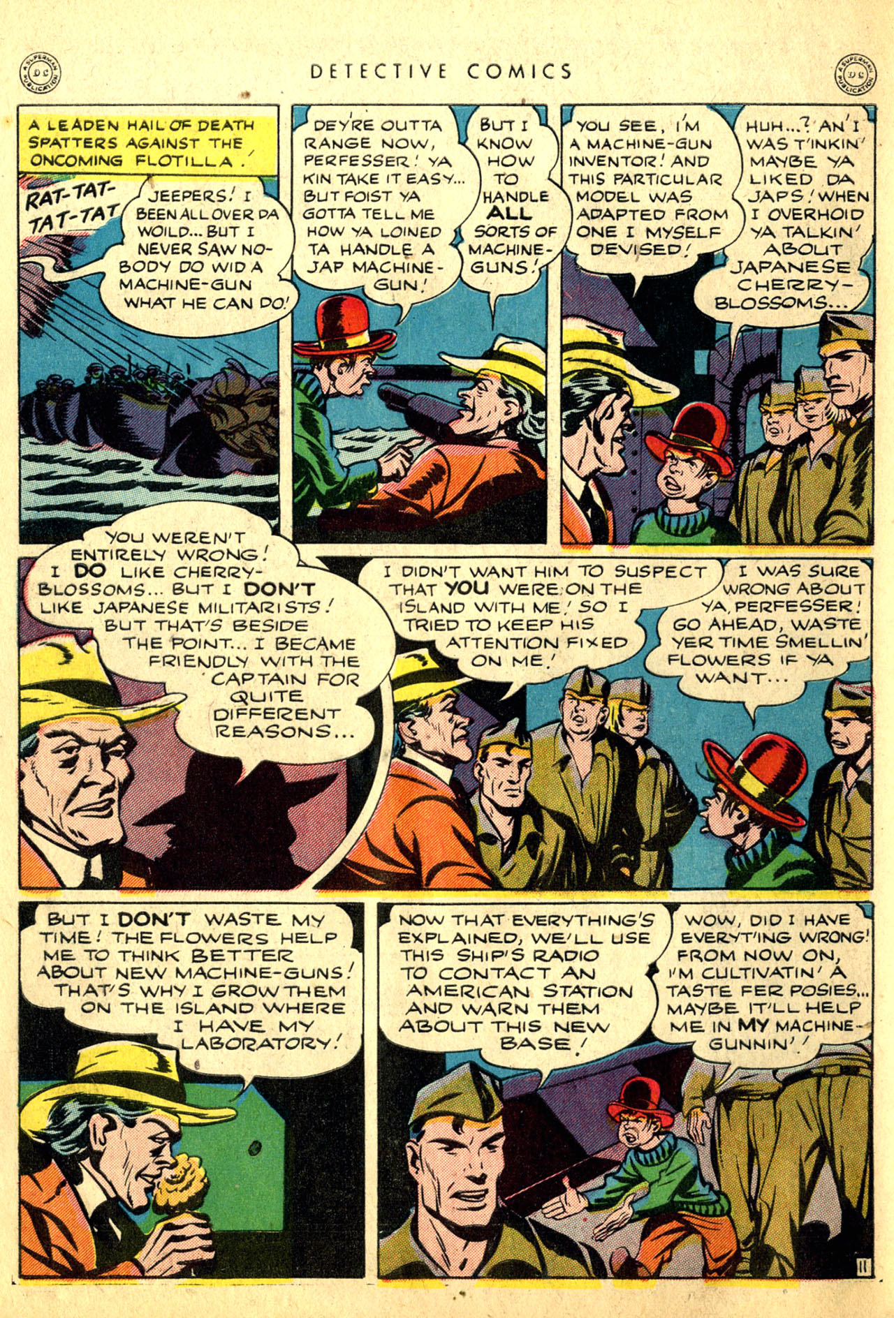 Read online Detective Comics (1937) comic -  Issue #91 - 50