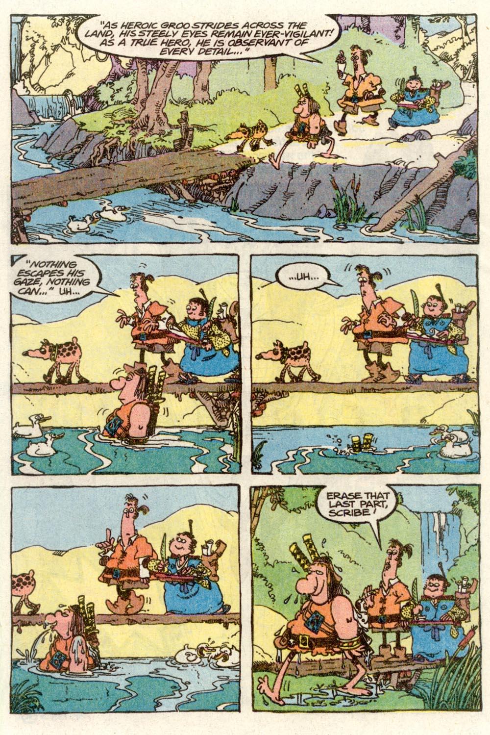 Read online Sergio Aragonés Groo the Wanderer comic -  Issue #70 - 9