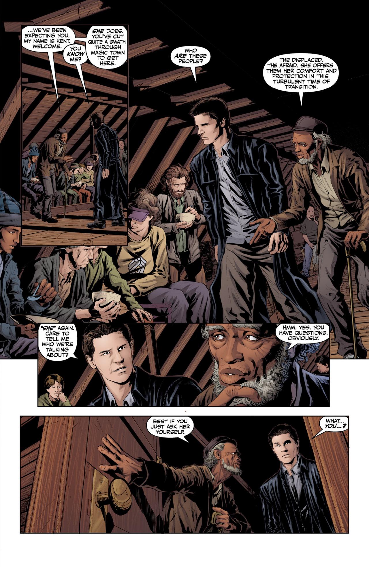 Read online Angel & Faith Season 10 comic -  Issue #1 - 23