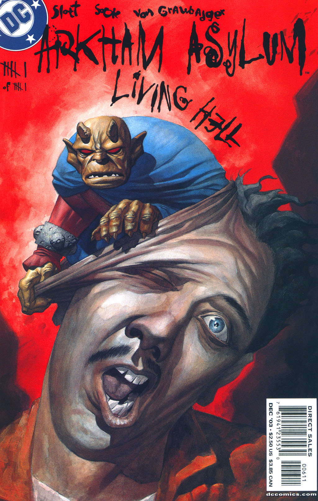 Read online Arkham Asylum: Living Hell comic -  Issue #6 - 2