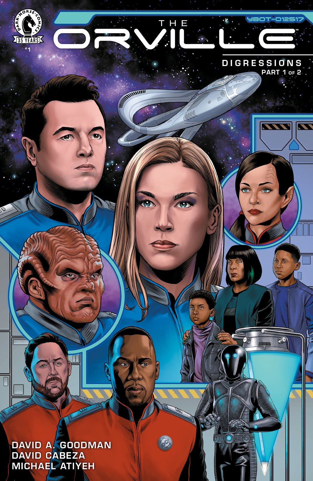 The Orville: Digressions issue 1 - Page 1