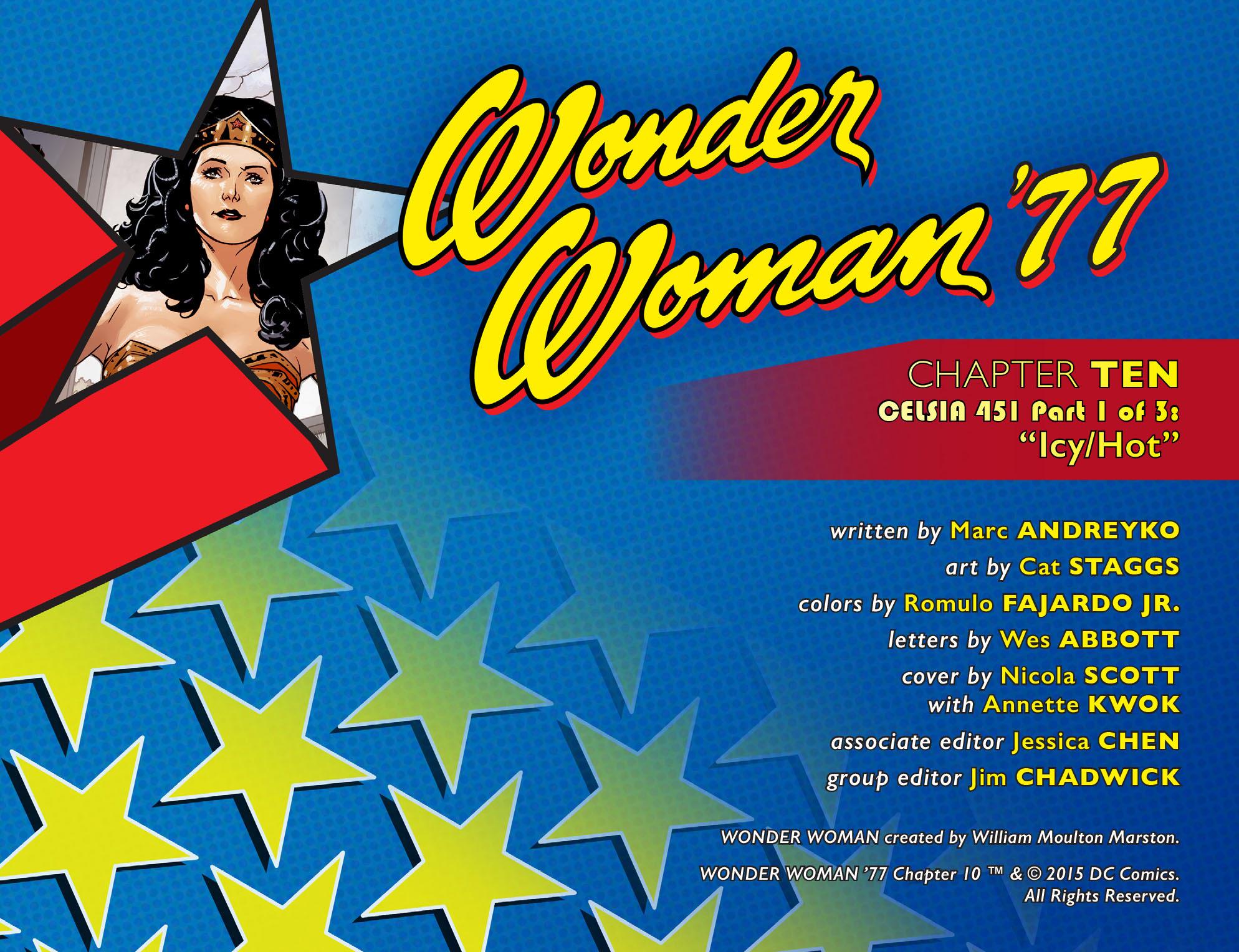 Read online Wonder Woman '77 [I] comic -  Issue #10 - 2