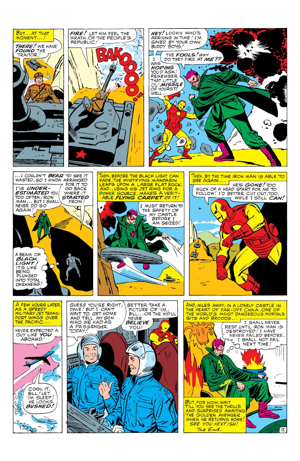 Read online Marvel Masterworks: The Invincible Iron Man comic -  Issue # TPB 2 (Part 2) - 98