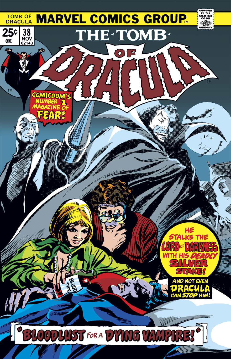 Tomb of Dracula (1972) issue 38 - Page 1
