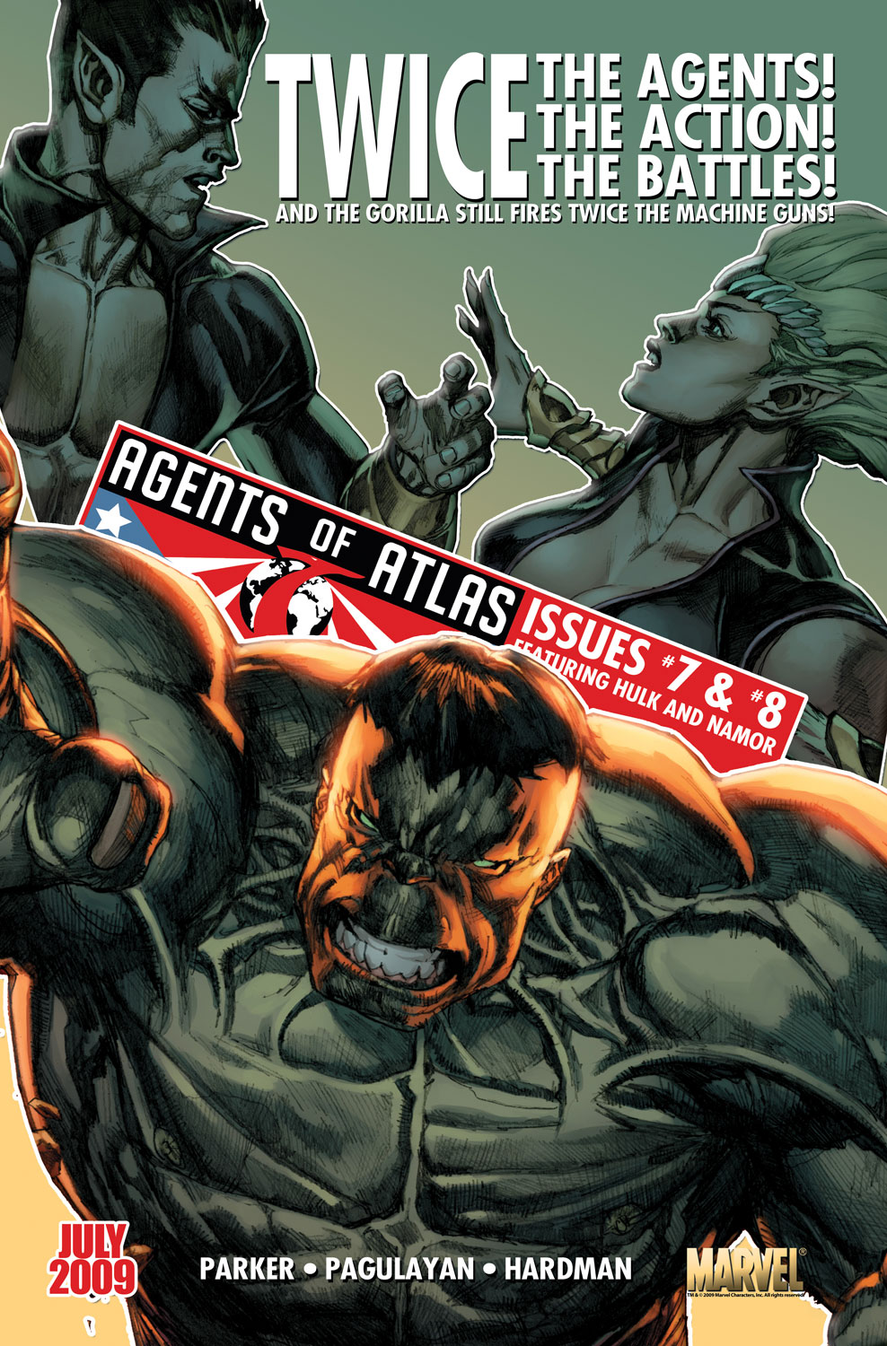 Read online Agents Of Atlas (2009) comic -  Issue #0 - 27