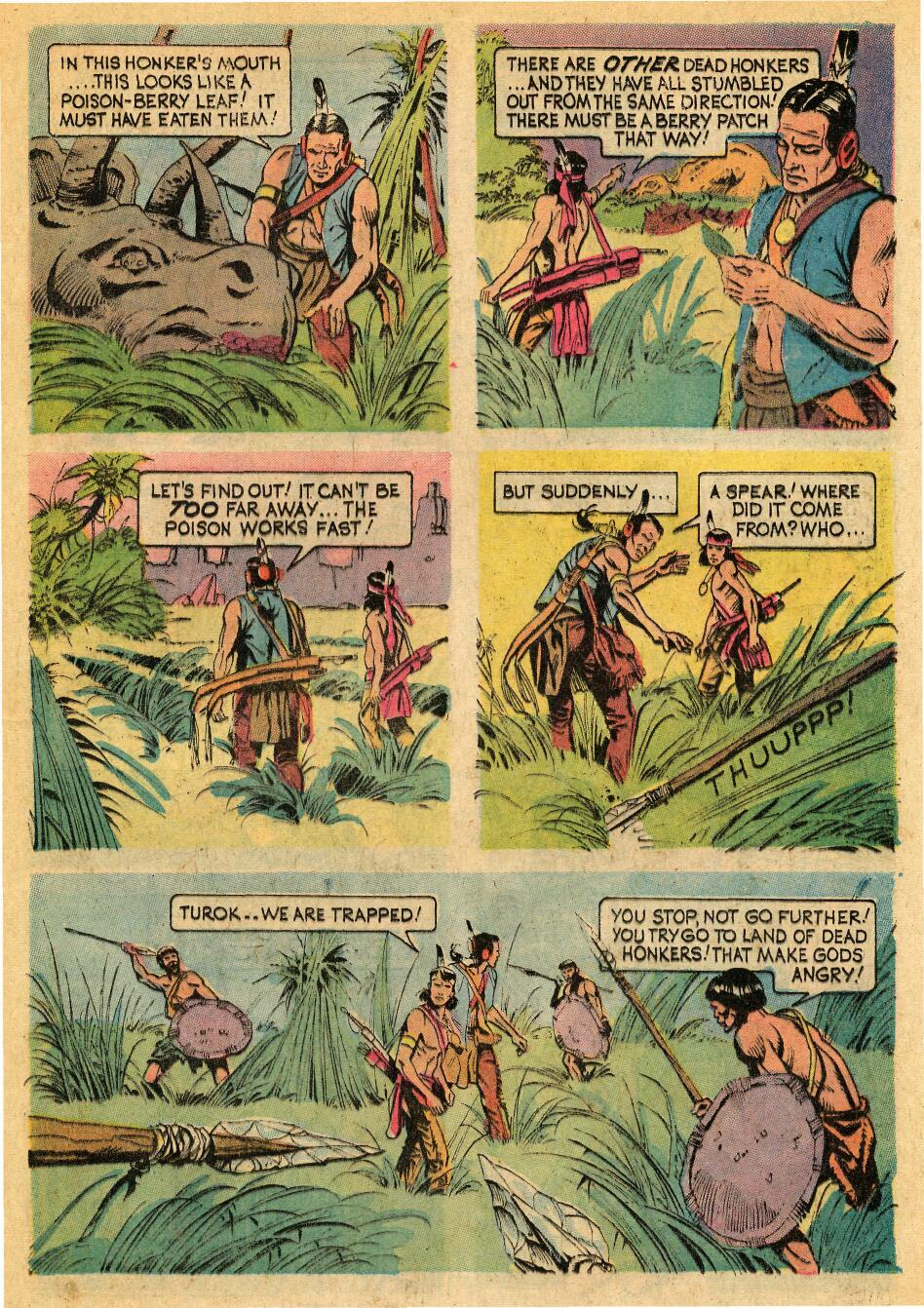 Read online Turok, Son of Stone comic -  Issue #88 - 21