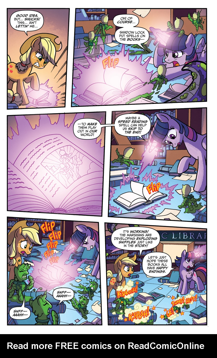 Read online My Little Pony: Friendship is Magic comic -  Issue #52 - 8